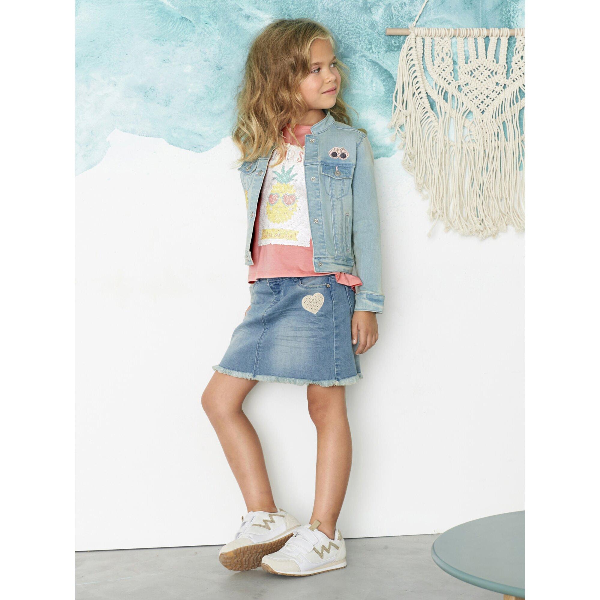 vertbaudet-happy-price-jeansjacke-fur-madchen-stretch, 23.99 EUR @ babywalz-de