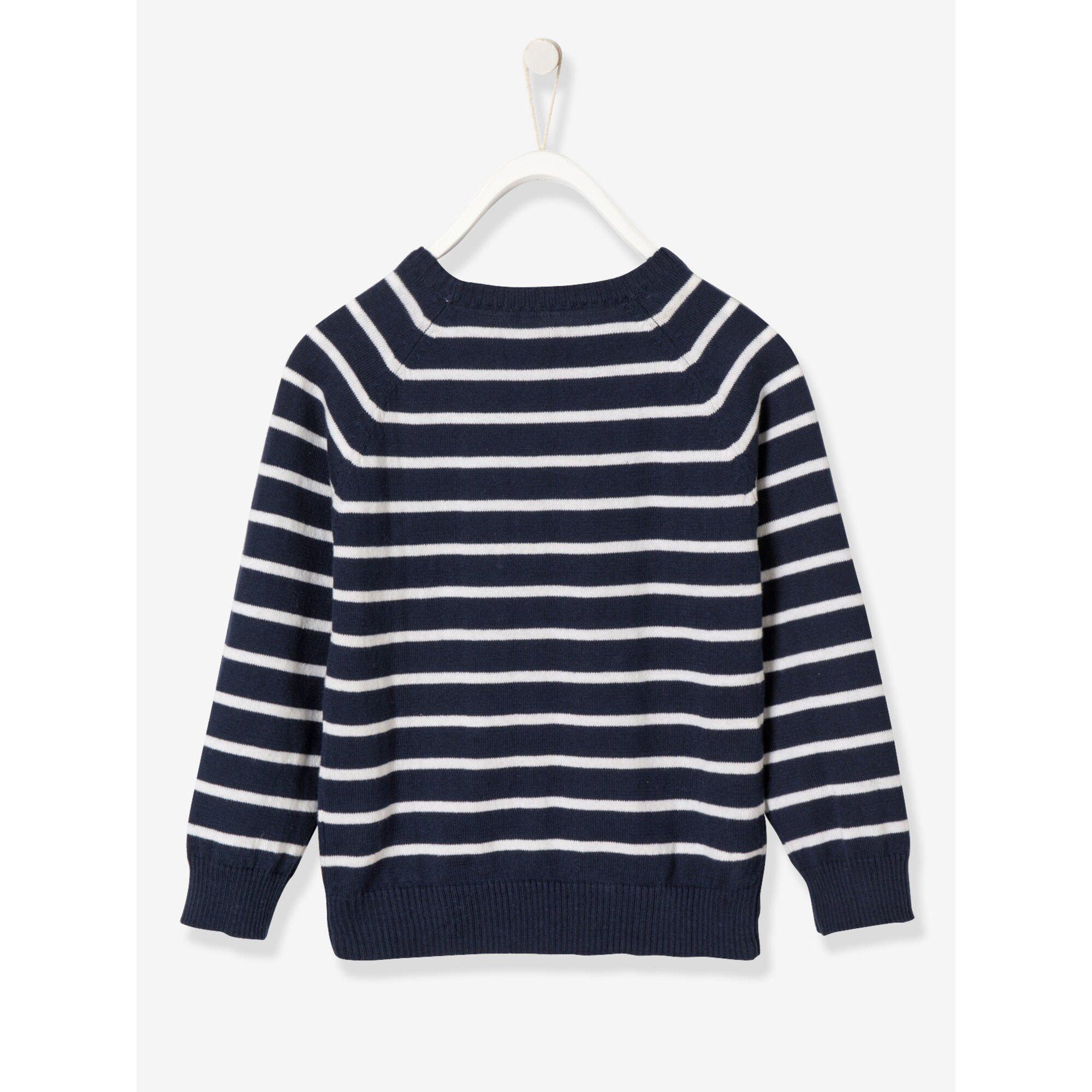 vertbaudet-jungen-pullover-bedruckt, 18.99 EUR @ babywalz-de