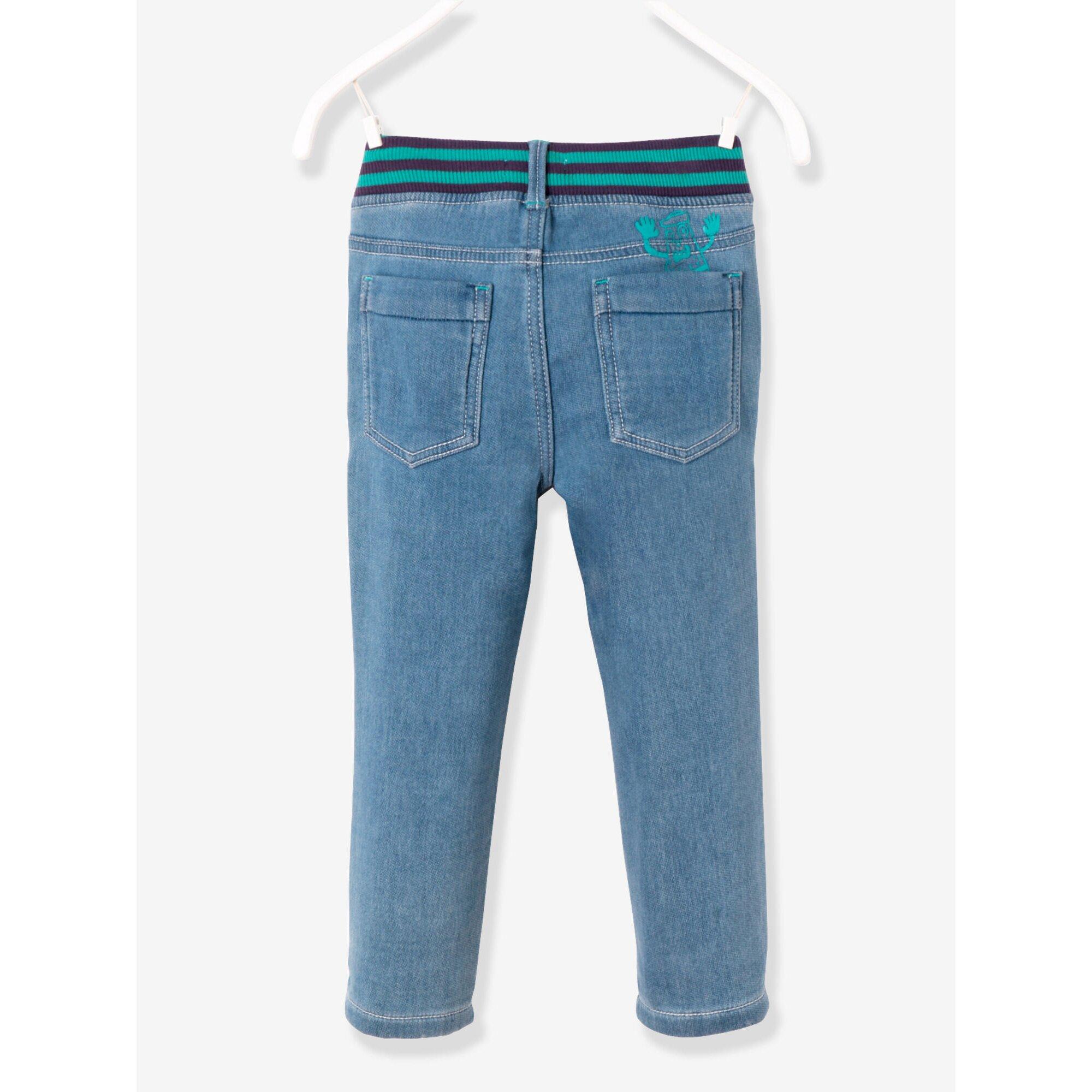 vertbaudet-sweathose-fur-jungen-jeansoptik, 23.99 EUR @ babywalz-de