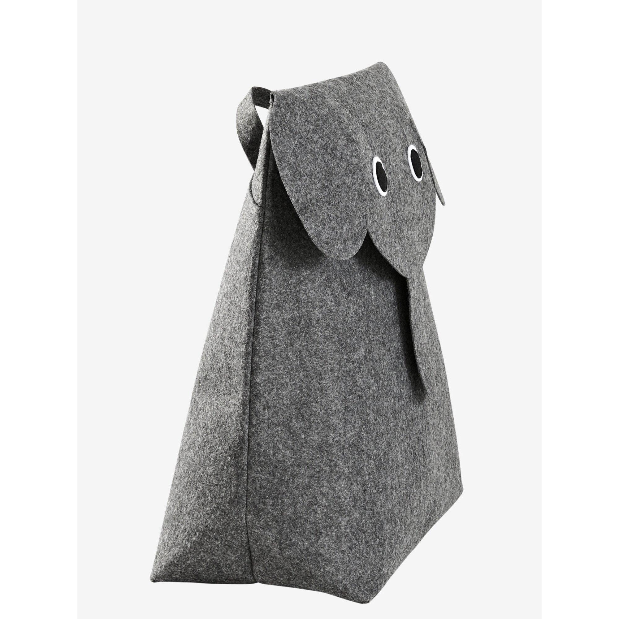 vertbaudet-aufbewahrungsbox-elefant-aus-filz, 25.99 EUR @ babywalz-de