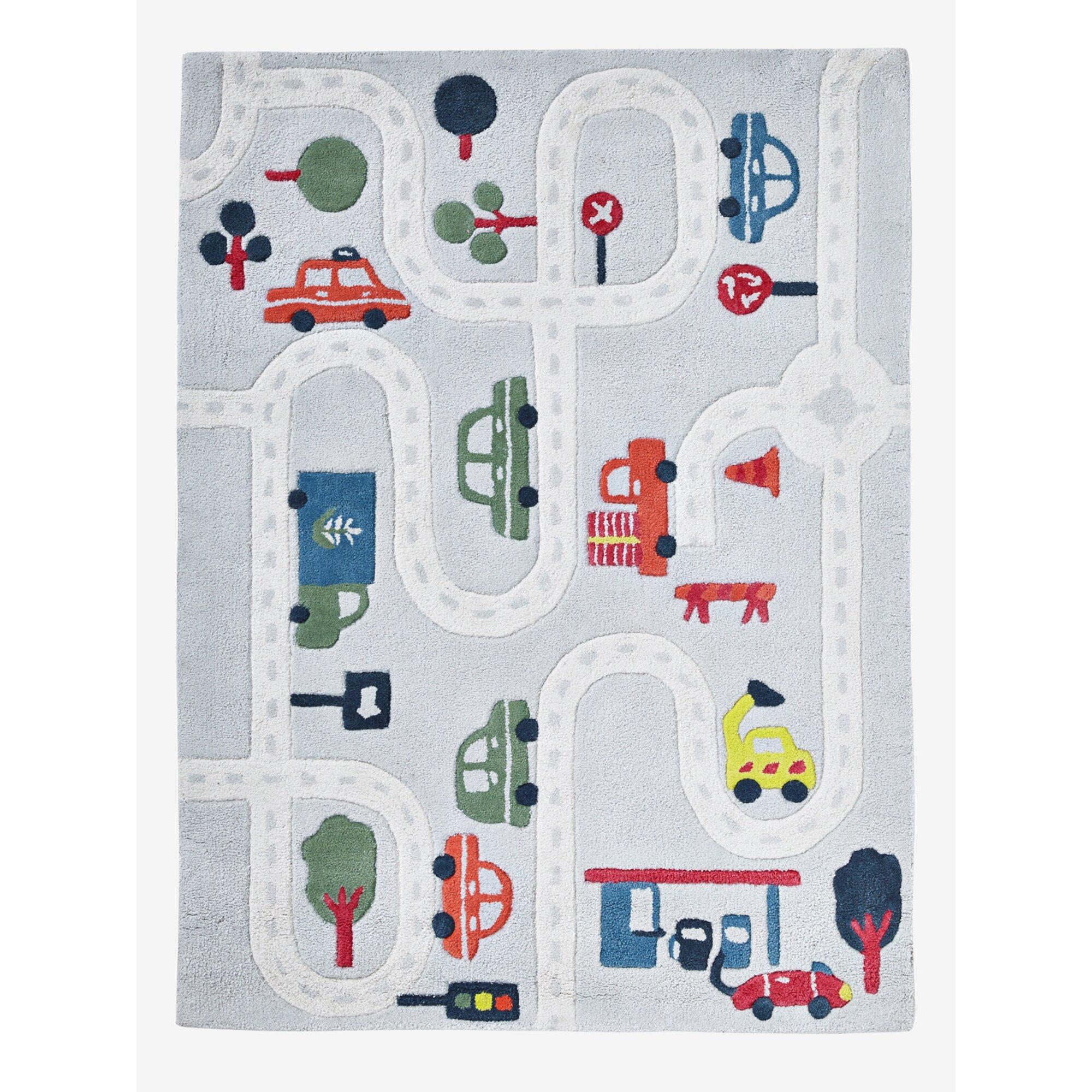 """Vertbaudet Spielteppich """"Autos"""" für Kinderzimmer mehrfarbig"""