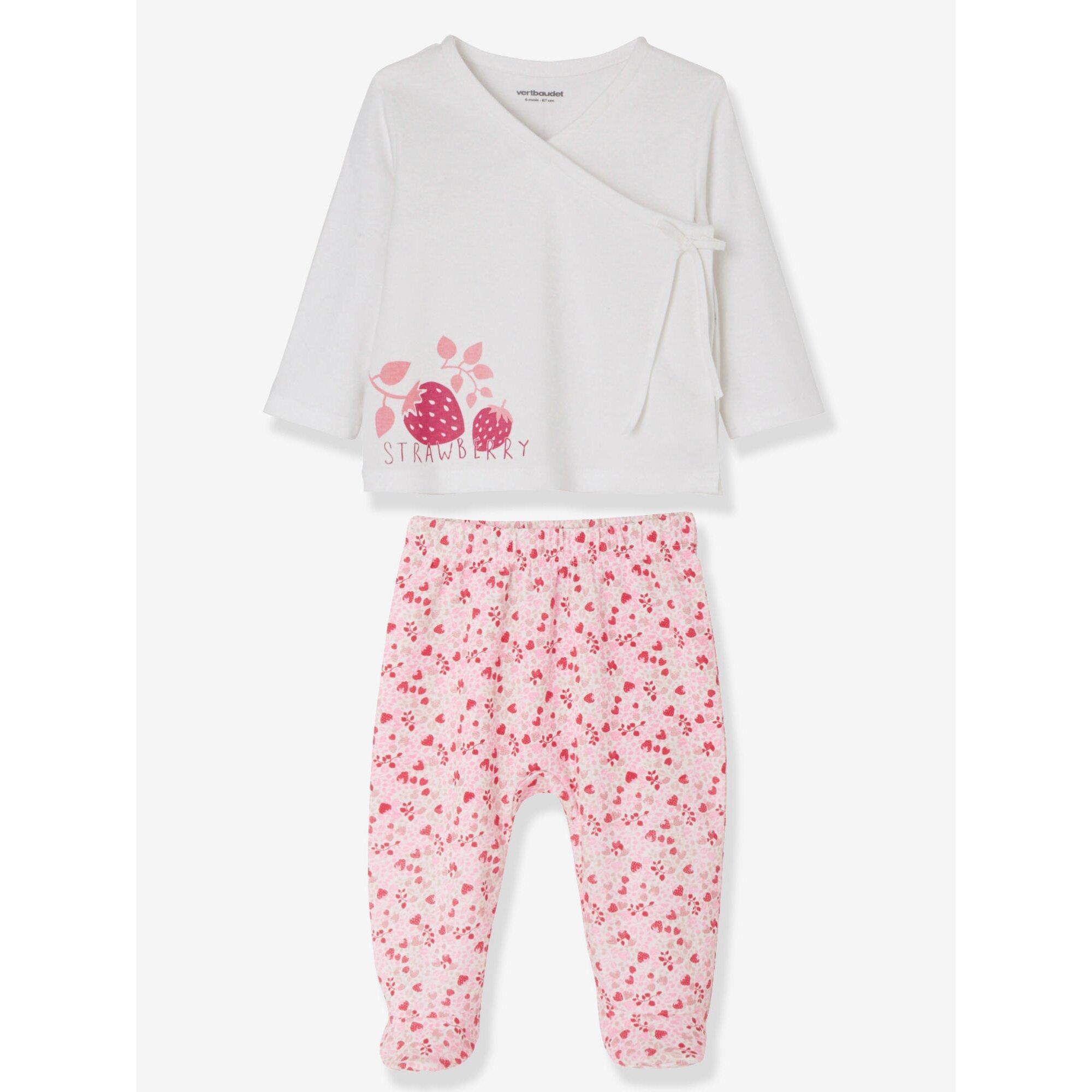 vertbaudet-2er-pack-baby-pyjamas-aus-baumwolle