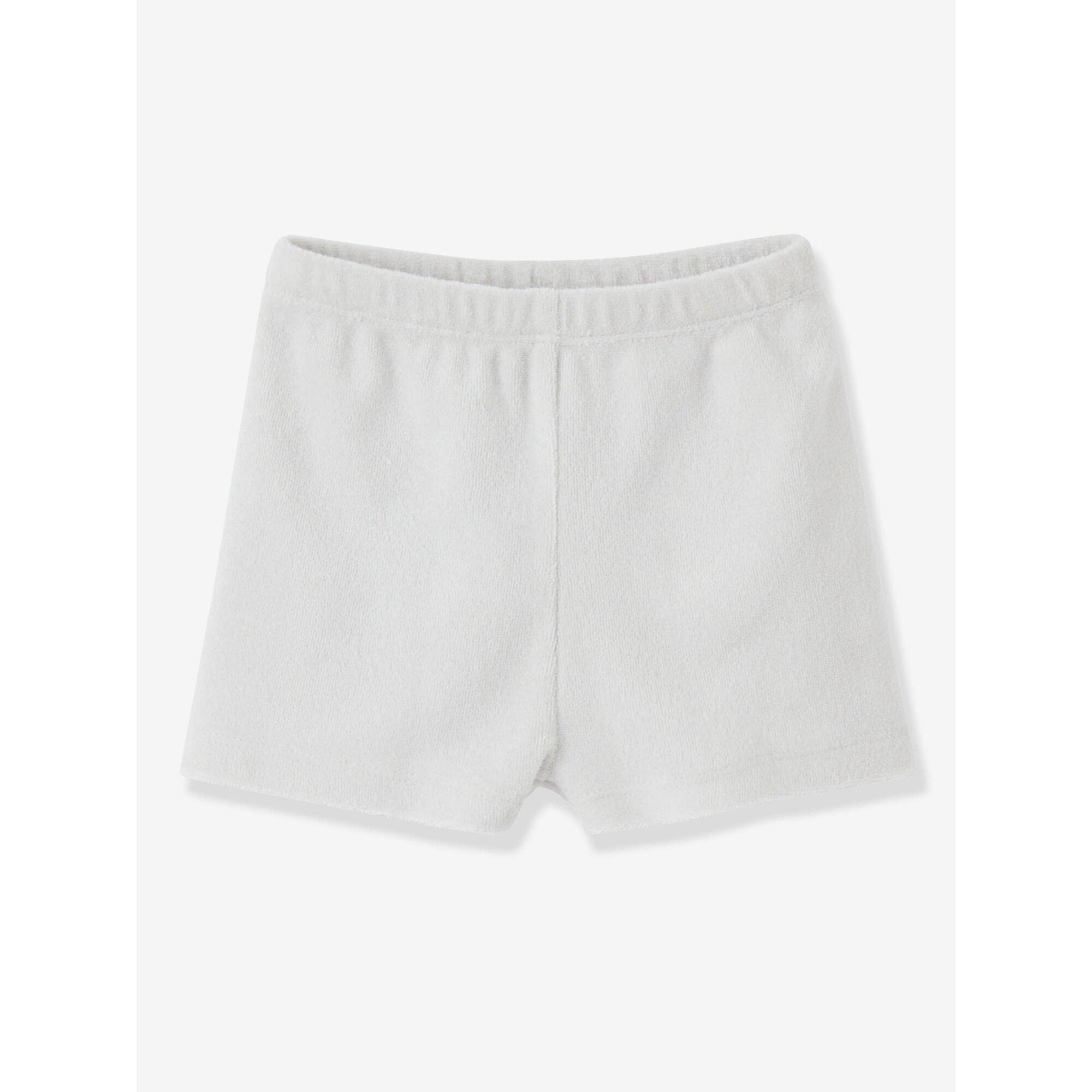 vertbaudet-4er-pack-frottee-shorts-baby-jungen, 13.99 EUR @ babywalz-de