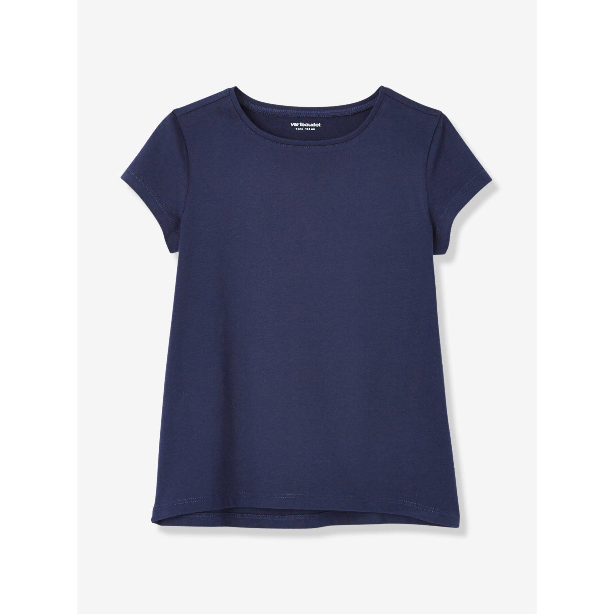 vertbaudet-2er-pack-t-shirts-fur-madchen-rundhals