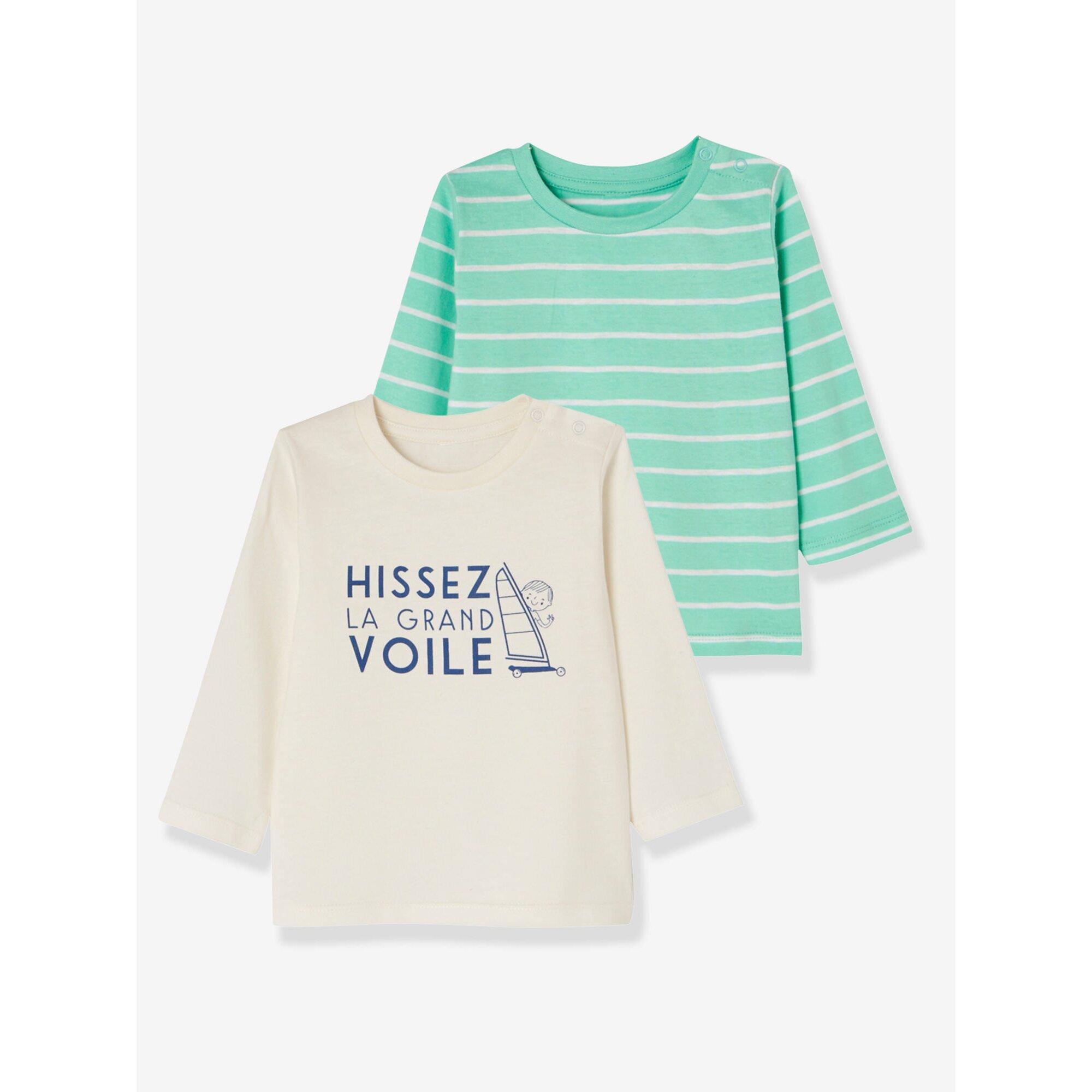 vertbaudet-2er-pack-baby-jungen-shirts-bedruckt