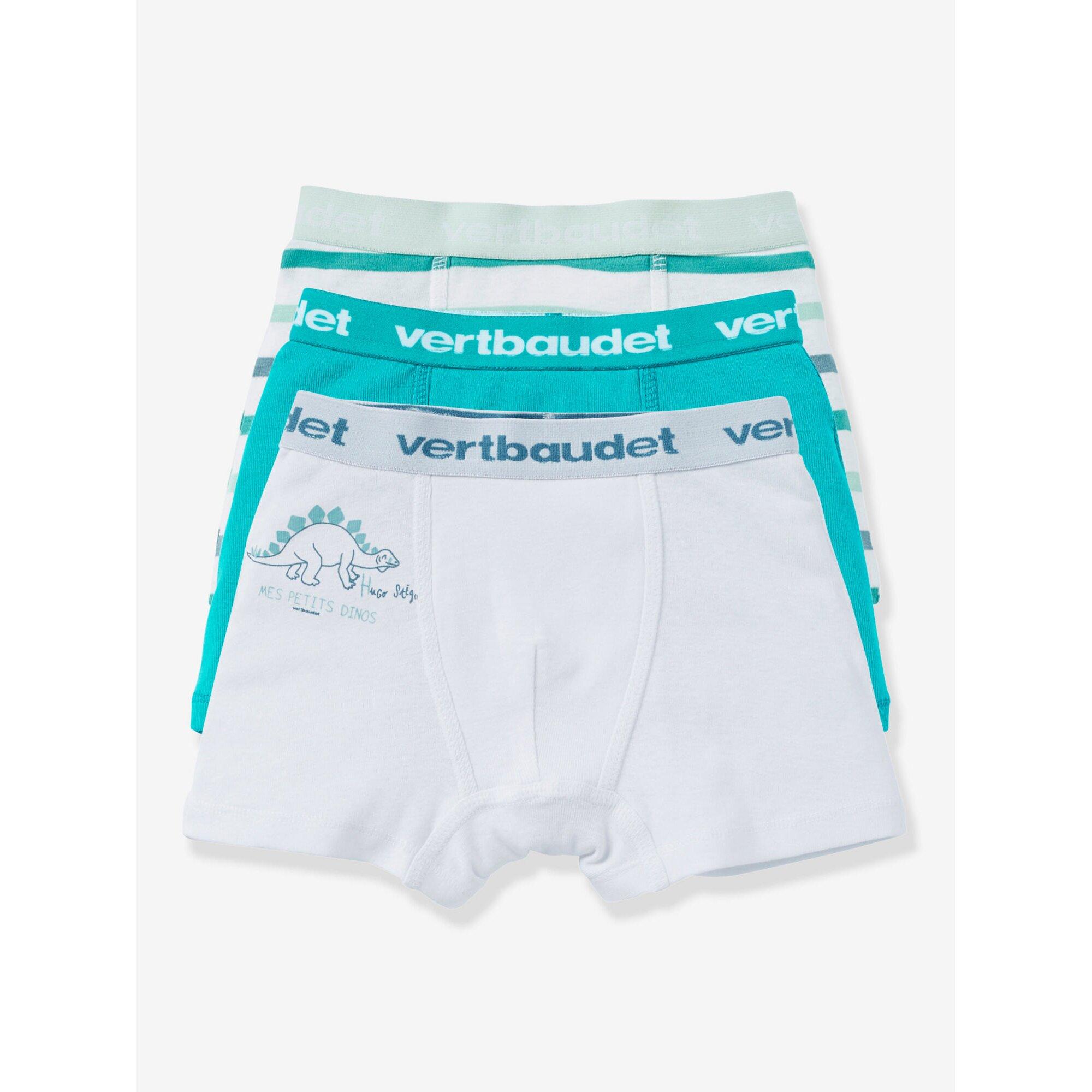 vertbaudet-3er-pack-jungen-boxershorts-stretch, 13.99 EUR @ babywalz-de