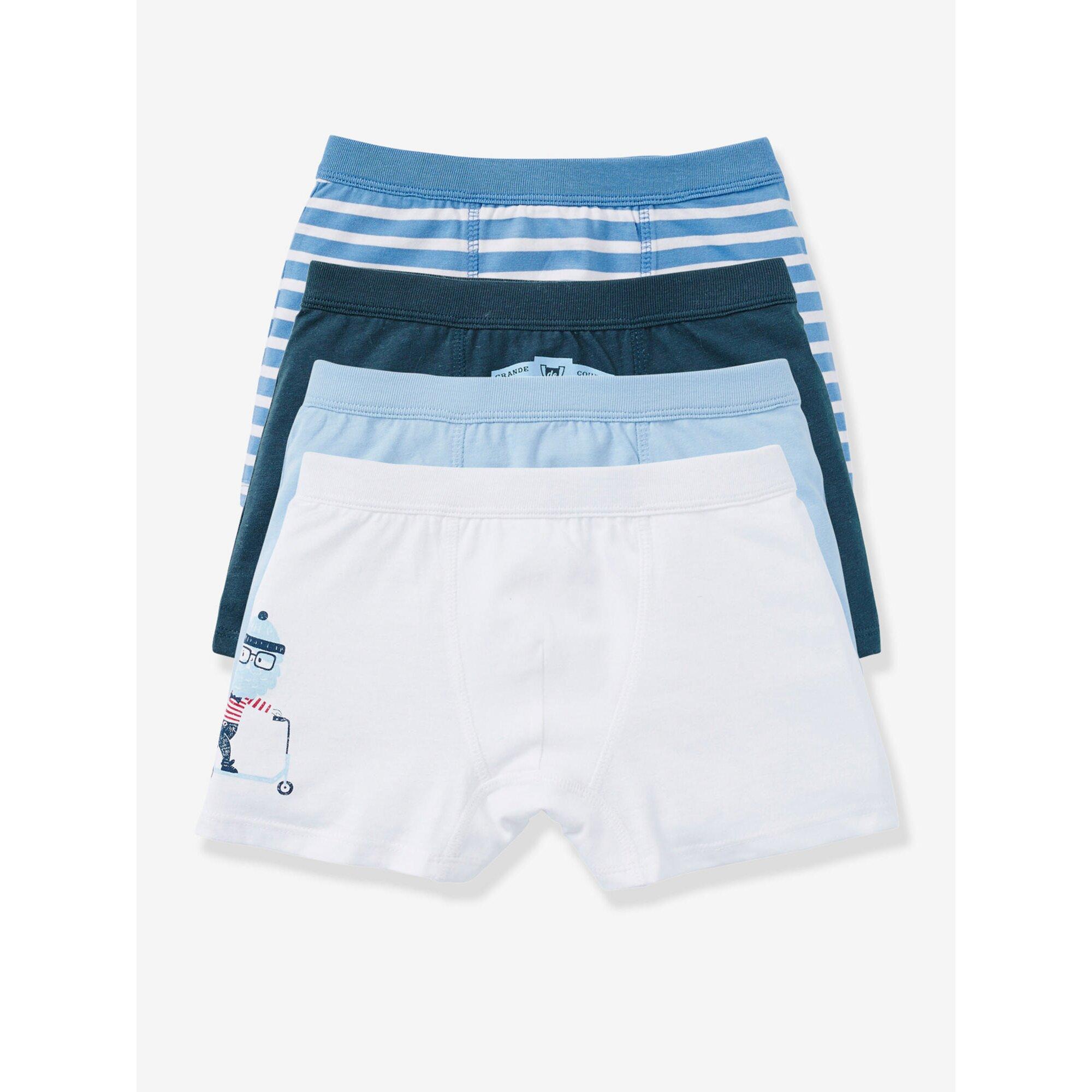 vertbaudet-4er-pack-boxershorts-fur-jungen
