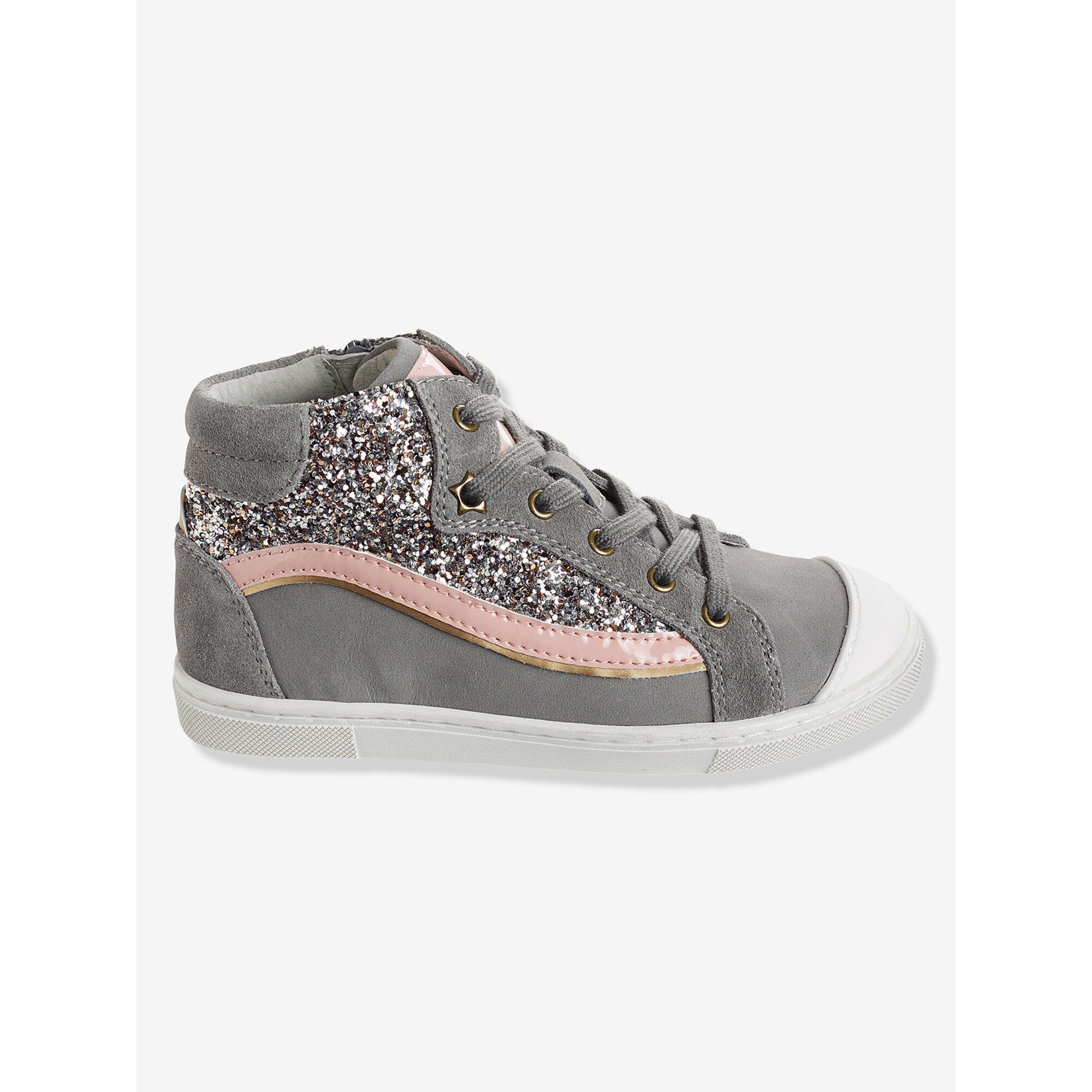 vertbaudet-sneakers-fur-madchen-schnurung-und-zipper, 38.24 EUR @ babywalz-de