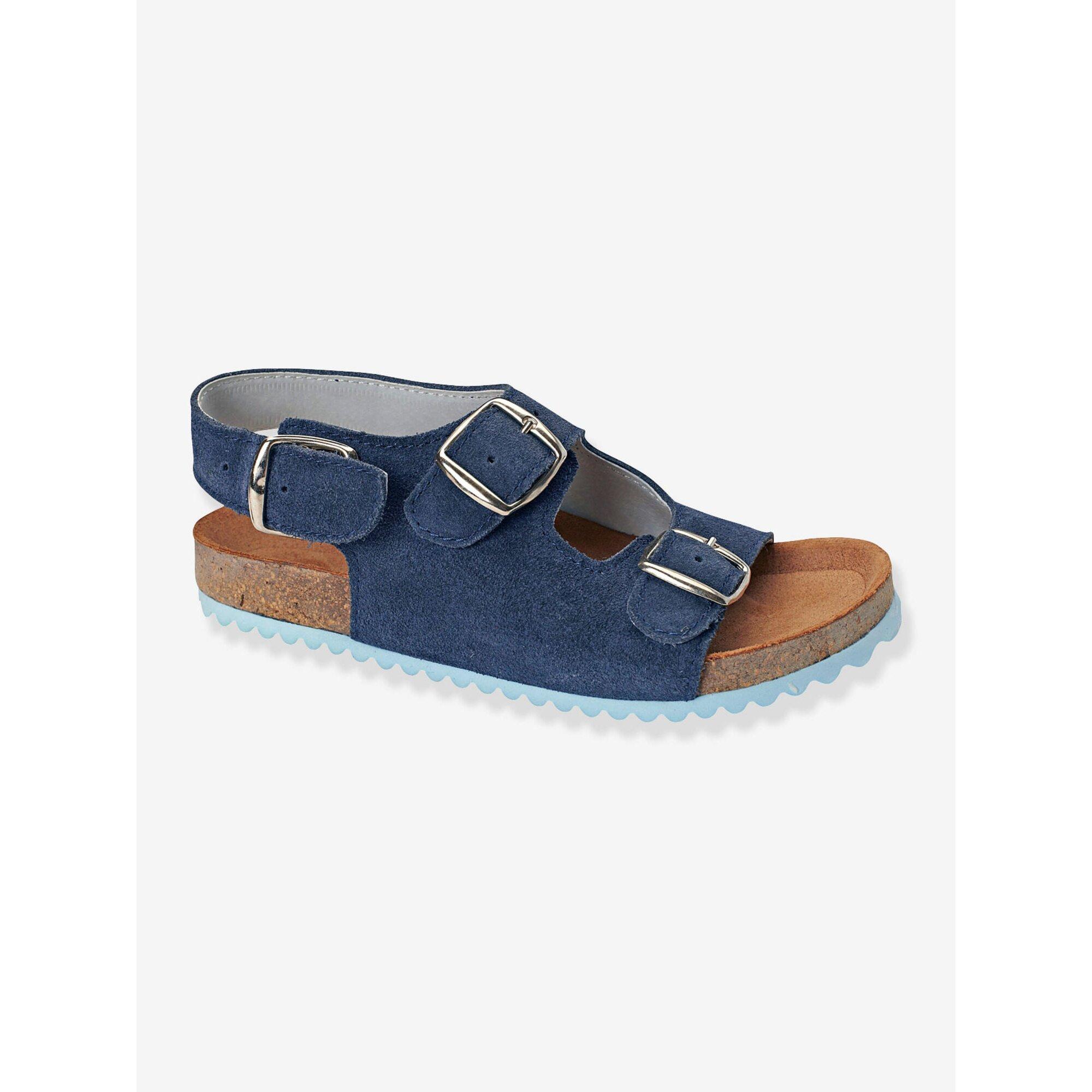 Vertbaudet Sandalen für Jungen Leder