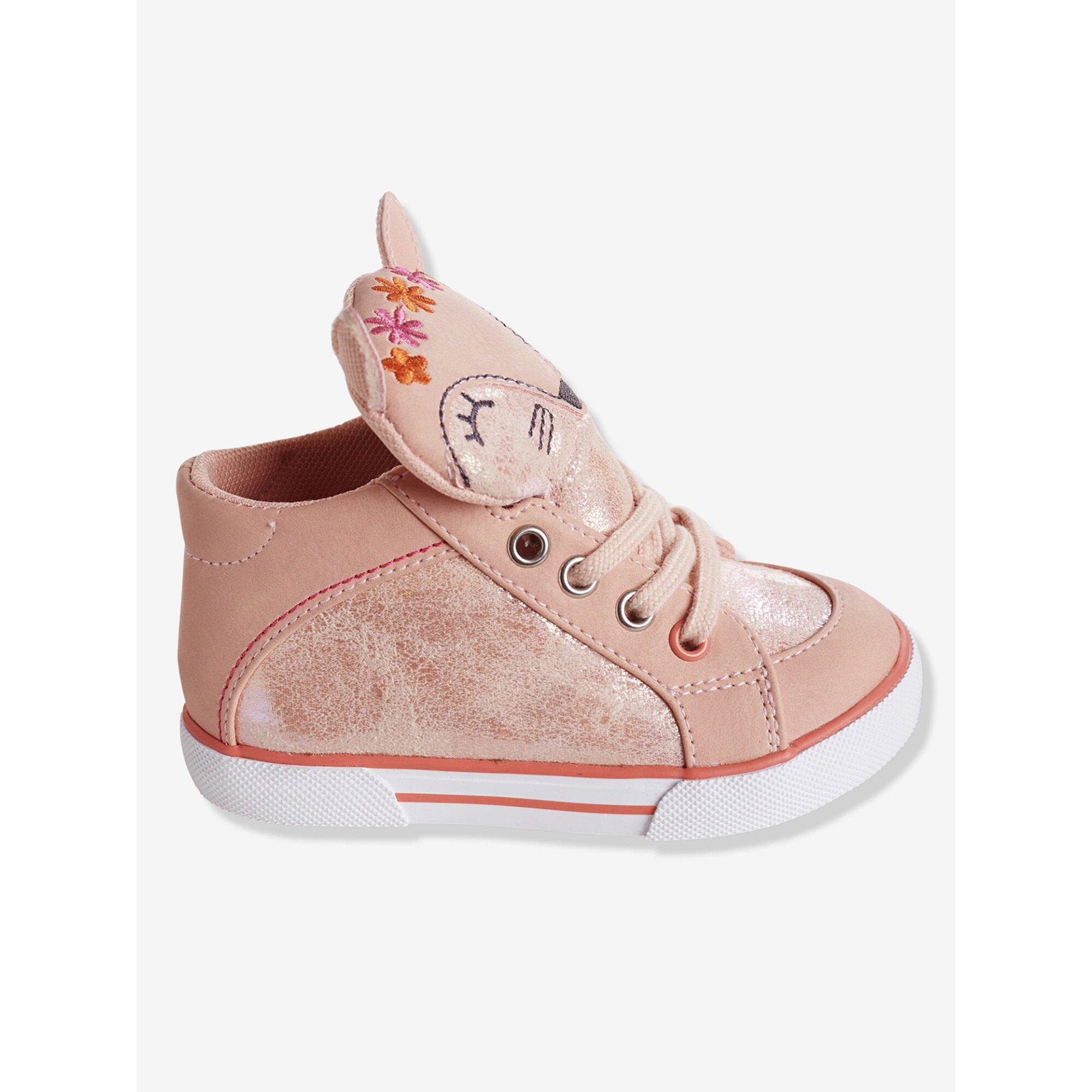 vertbaudet-sneakers-fur-madchen-schnurung, 30.99 EUR @ babywalz-de