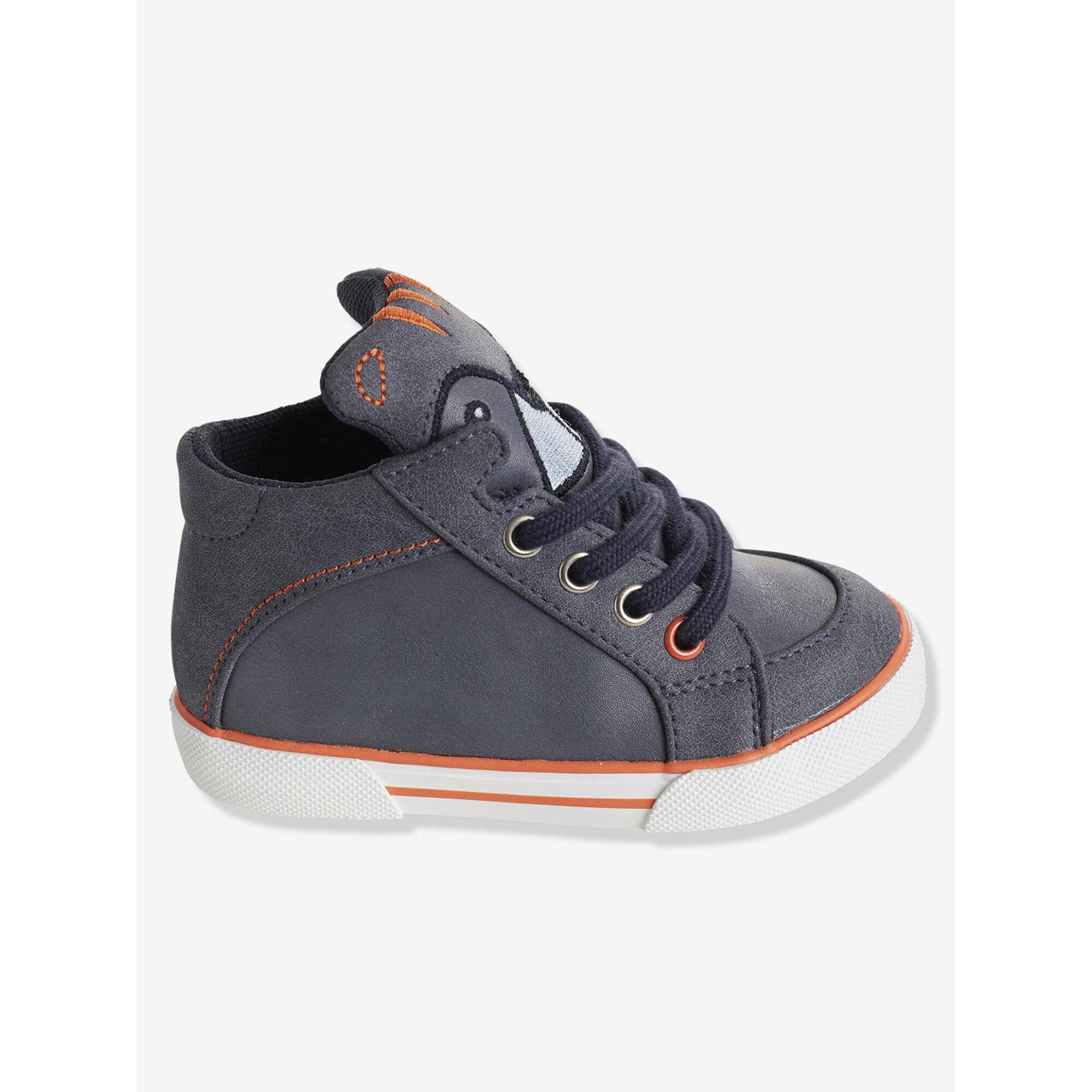 vertbaudet-high-sneakers-mit-schnurung-jungen, 30.99 EUR @ babywalz-de