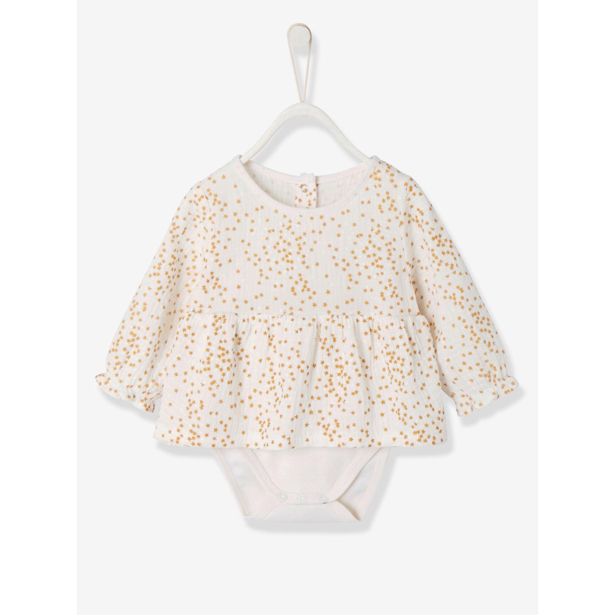 vertbaudet-baby-shirtbody-leggings-und-weste, 35.99 EUR @ babywalz-de