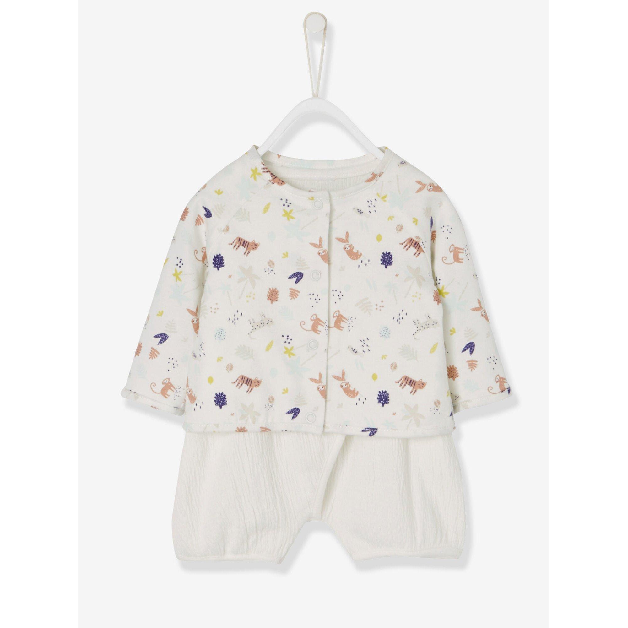 vertbaudet-babyset-aus-overall-und-cardigan, 14.69 EUR @ babywalz-de