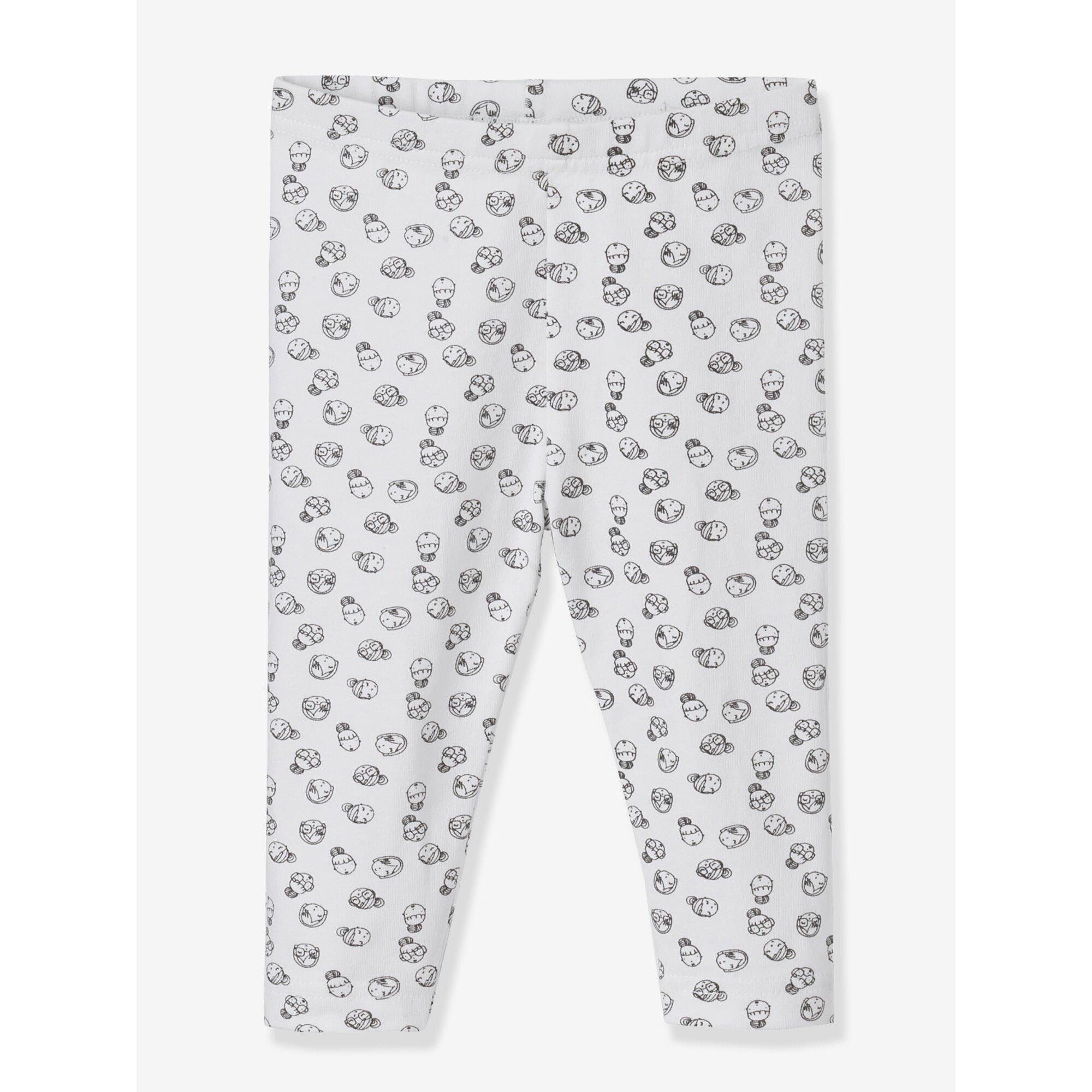 vertbaudet-2er-pack-leggings-baby-madchen, 10.99 EUR @ babywalz-de