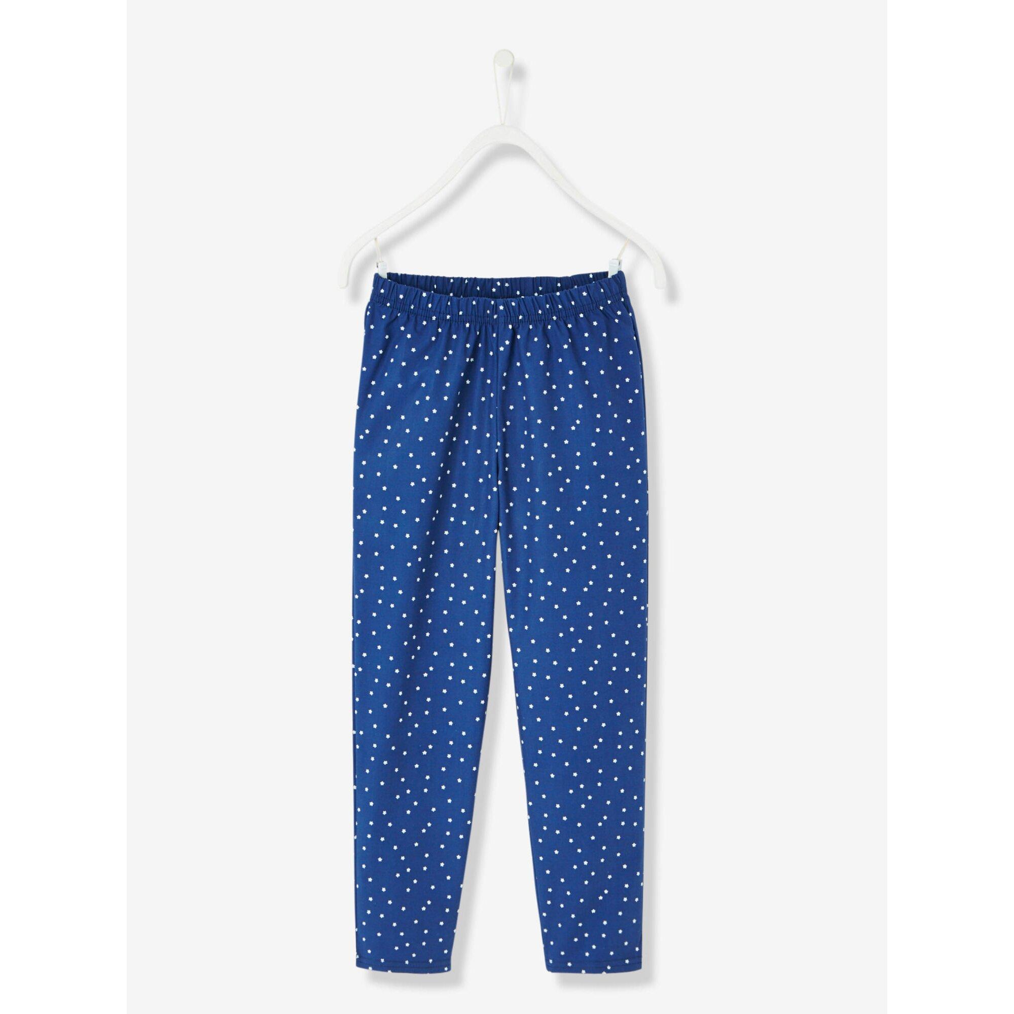 vertbaudet-madchenschlafanzug-materialmix, 20.99 EUR @ babywalz-de