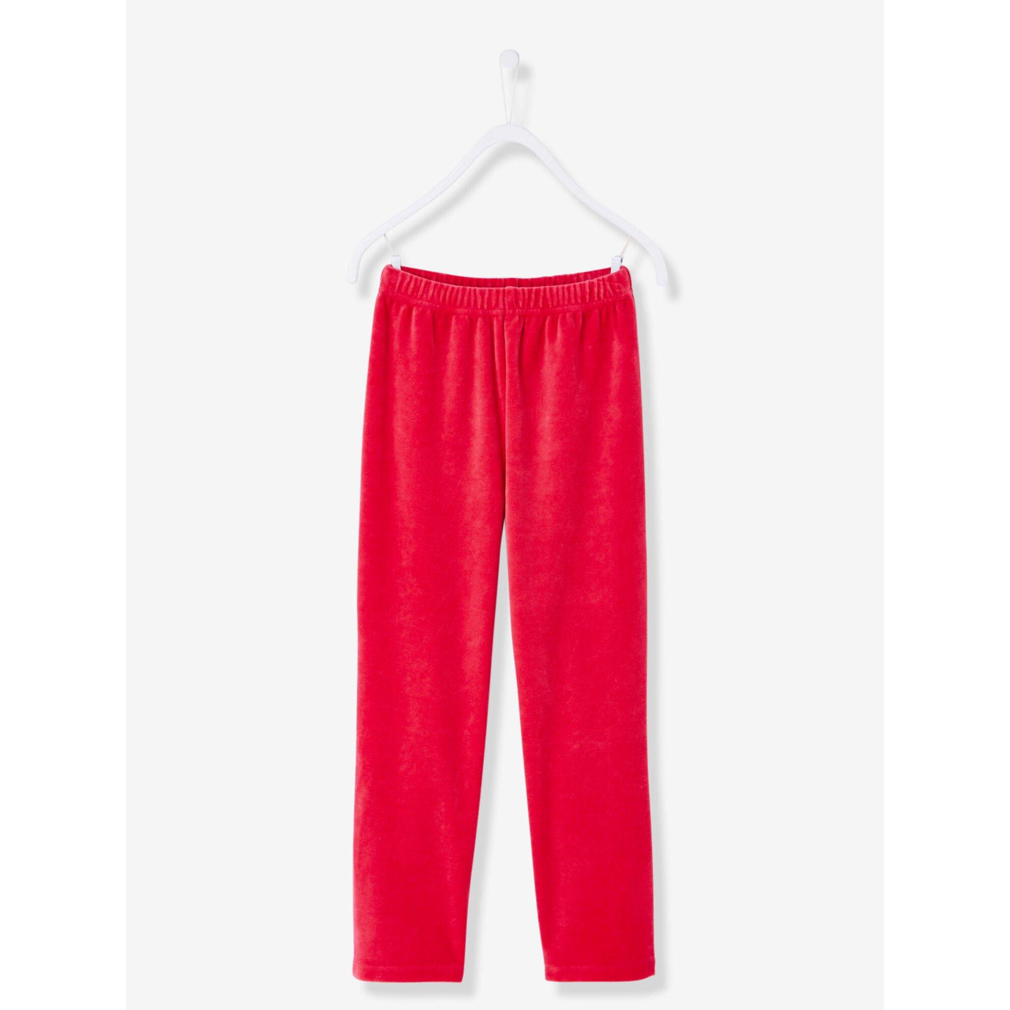 vertbaudet-samt-pyjama-fur-madchen