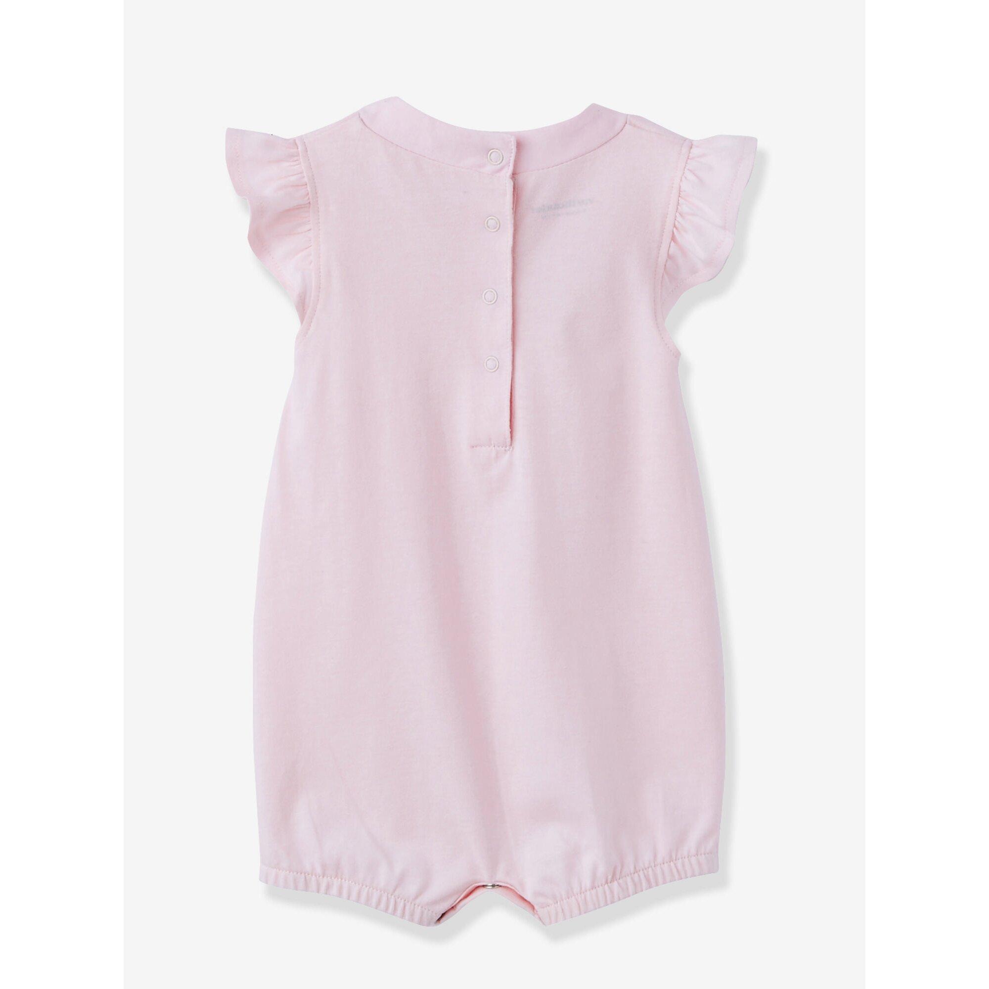 vertbaudet-2er-pack-kurze-jumpsuits-baby-madchen