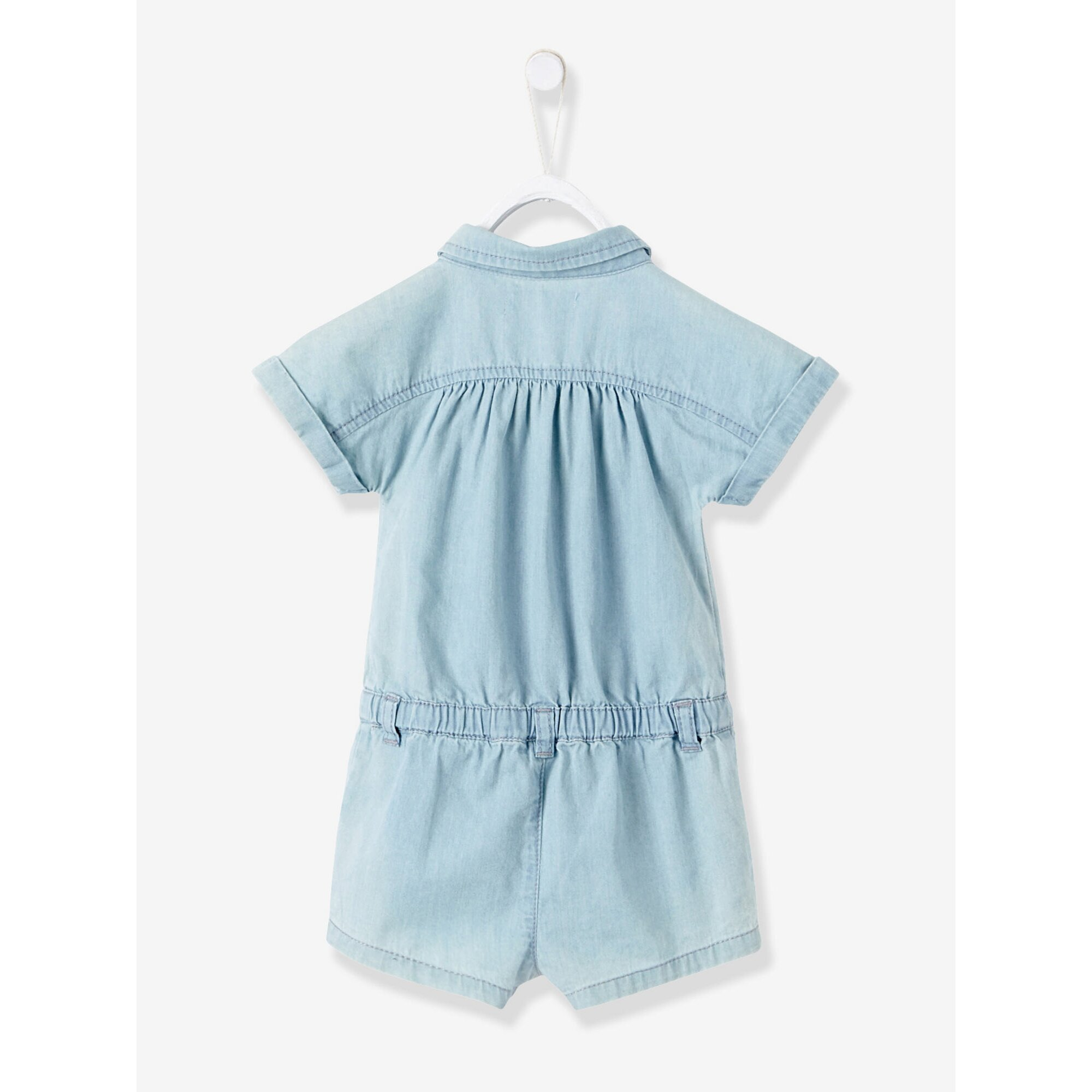 vertbaudet-jumpsuit-fur-baby-madchen-denim, 14.69 EUR @ babywalz-de