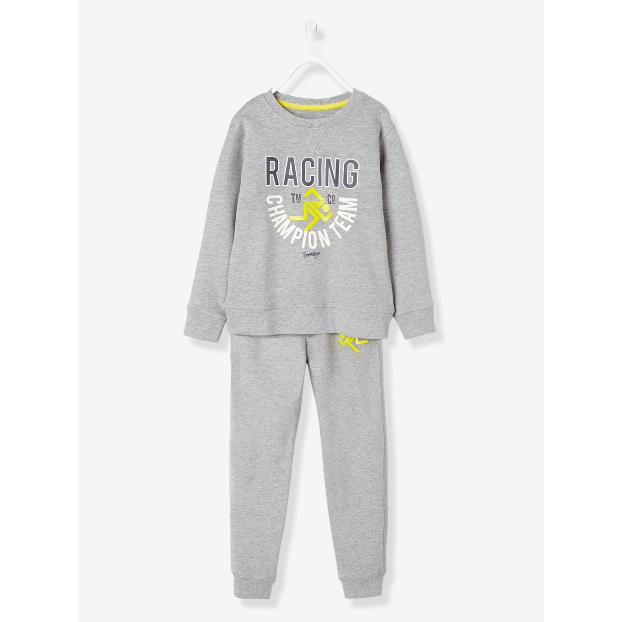 vertbaudet-jungen-sport-set-aus-sweater-und-jogginghose, 30.99 EUR @ babywalz-de