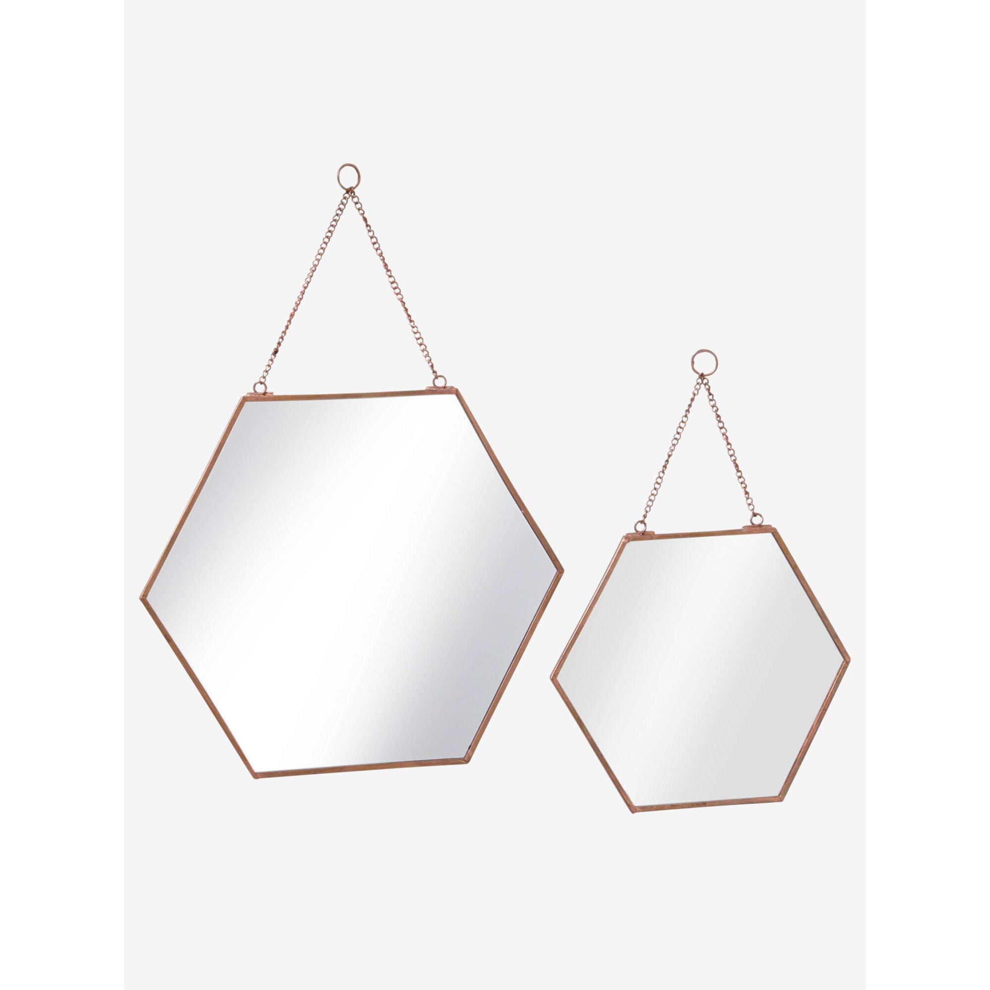 Vertbaudet 2er-Set Spiegel aus Metall