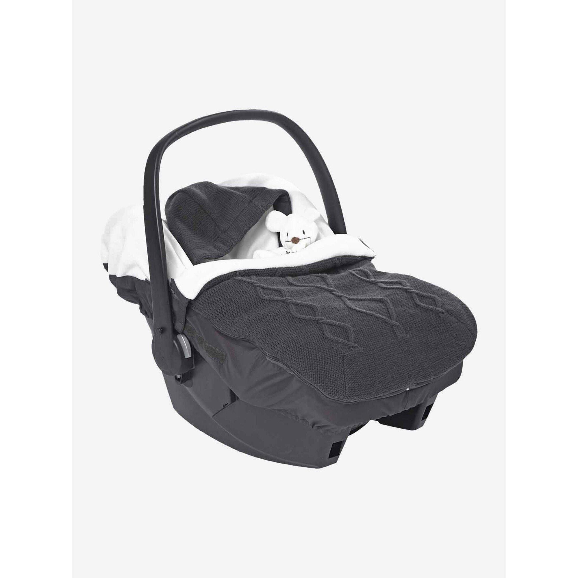 vertbaudet-fu-sack-fur-babyschalen-zopfmuster-schwarz