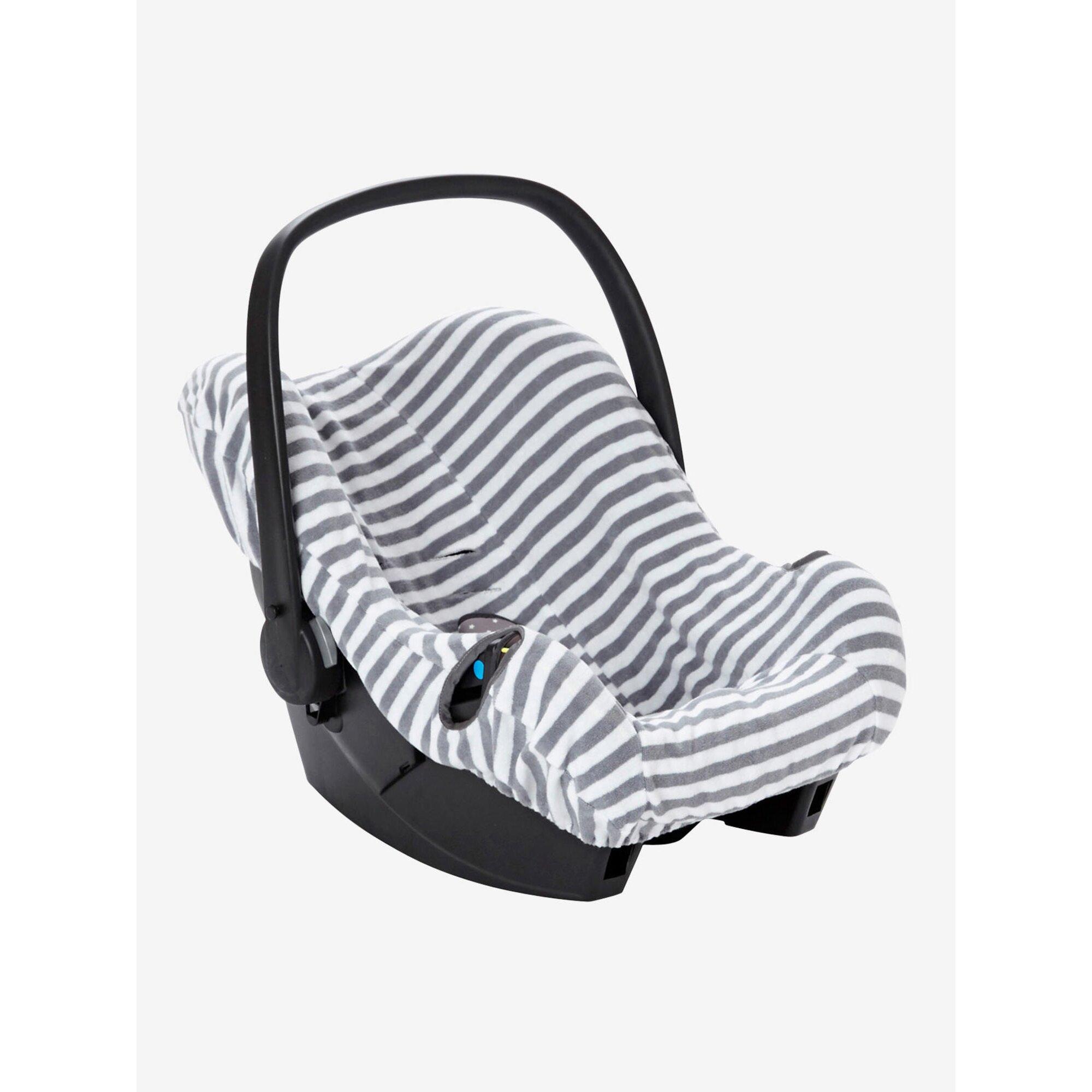 vertbaudet-schonbezug-fur-babyschale-gr-0-elastisch-grau, 19.99 EUR @ babywalz-de