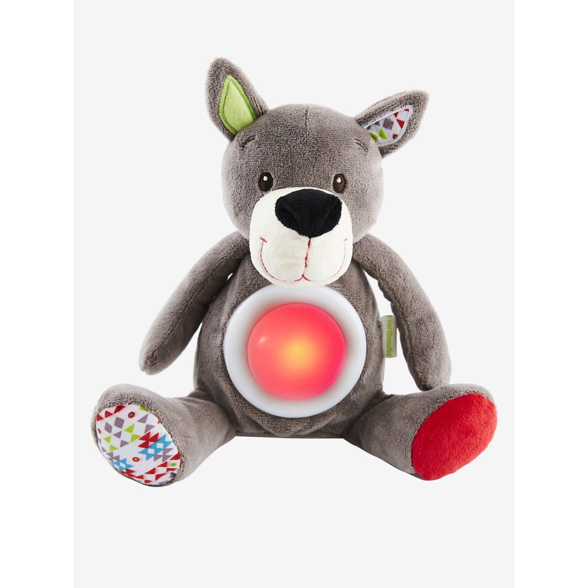 Vertbaudet Spieluhr Wolf mit Schlummerlicht
