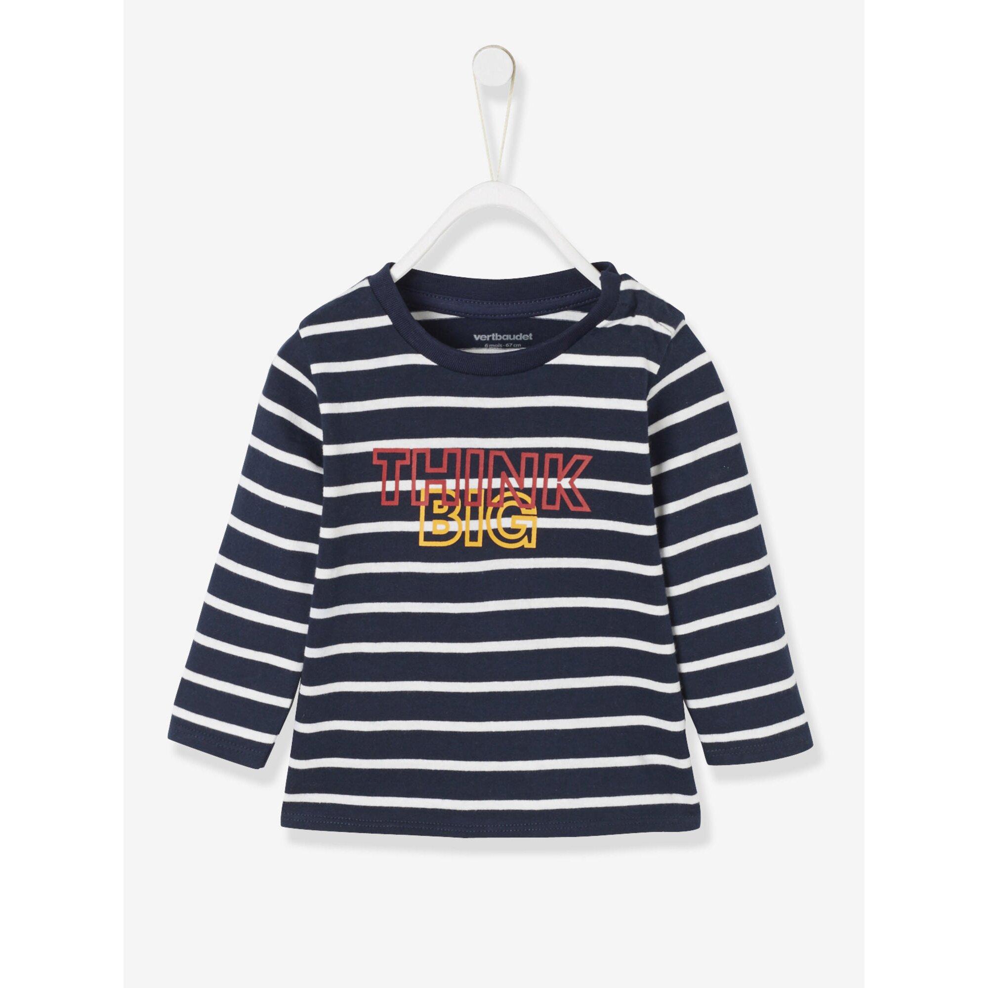 Vertbaudet Langarm-Shirt für Baby Jungen, bedruckt