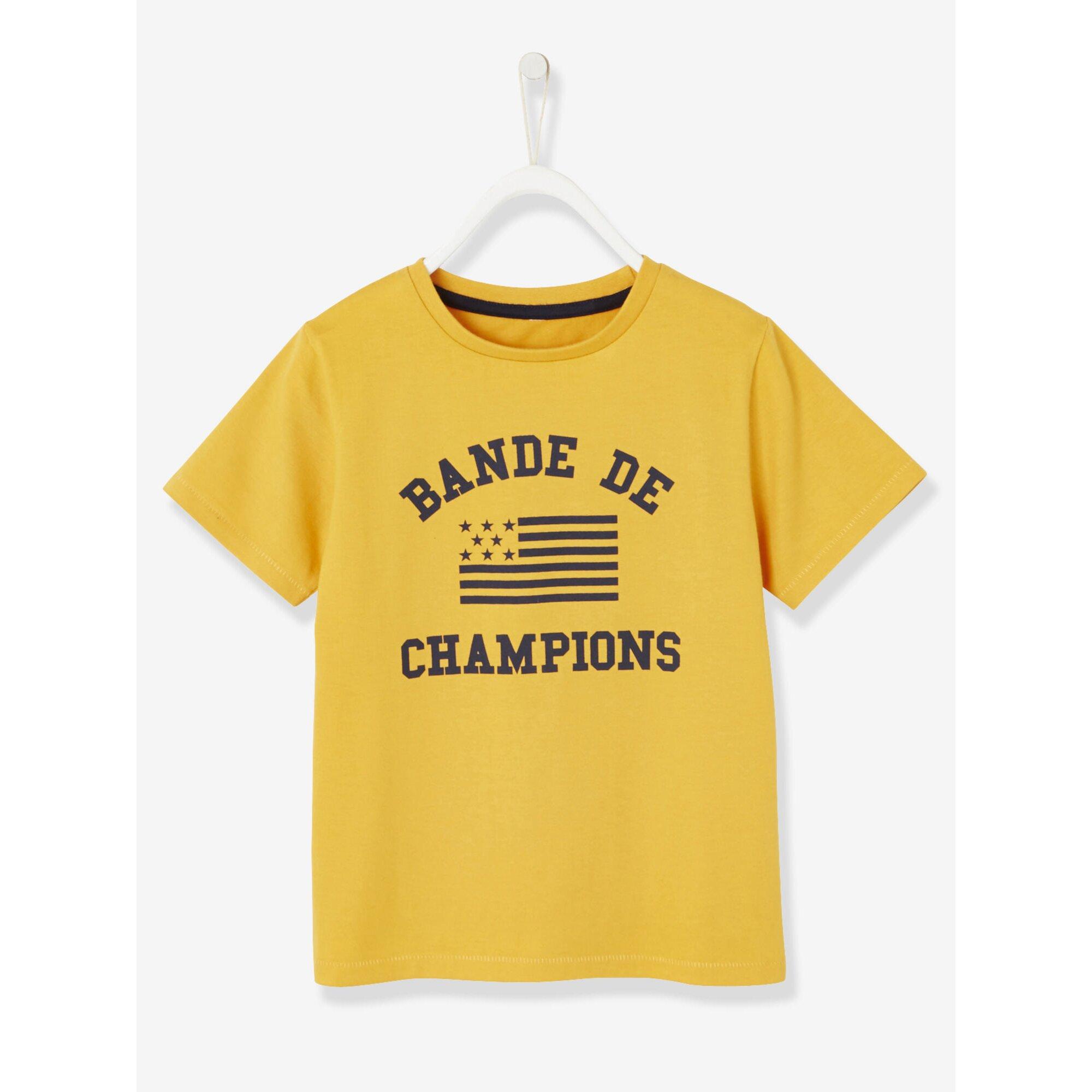Vertbaudet Jungen T-Shirt, Sportswear-Look