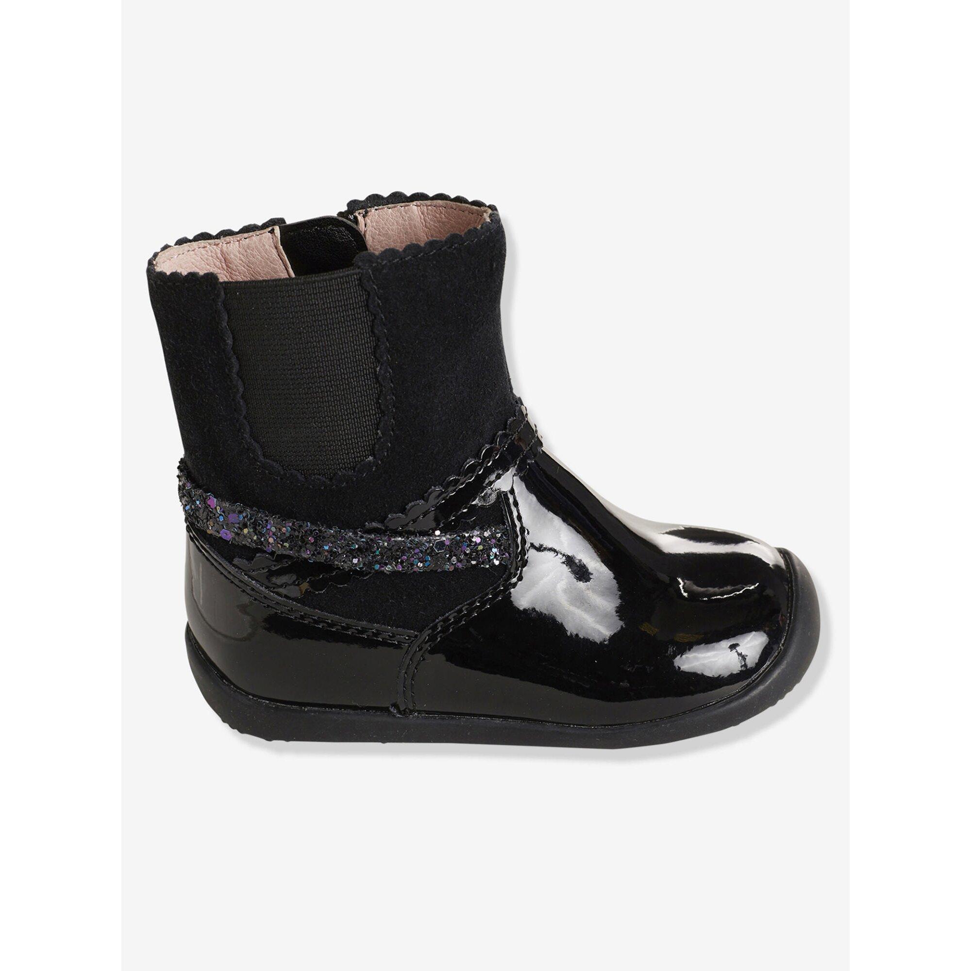 vertbaudet-madchen-boots-mit-gummizug, 54.99 EUR @ babywalz-de