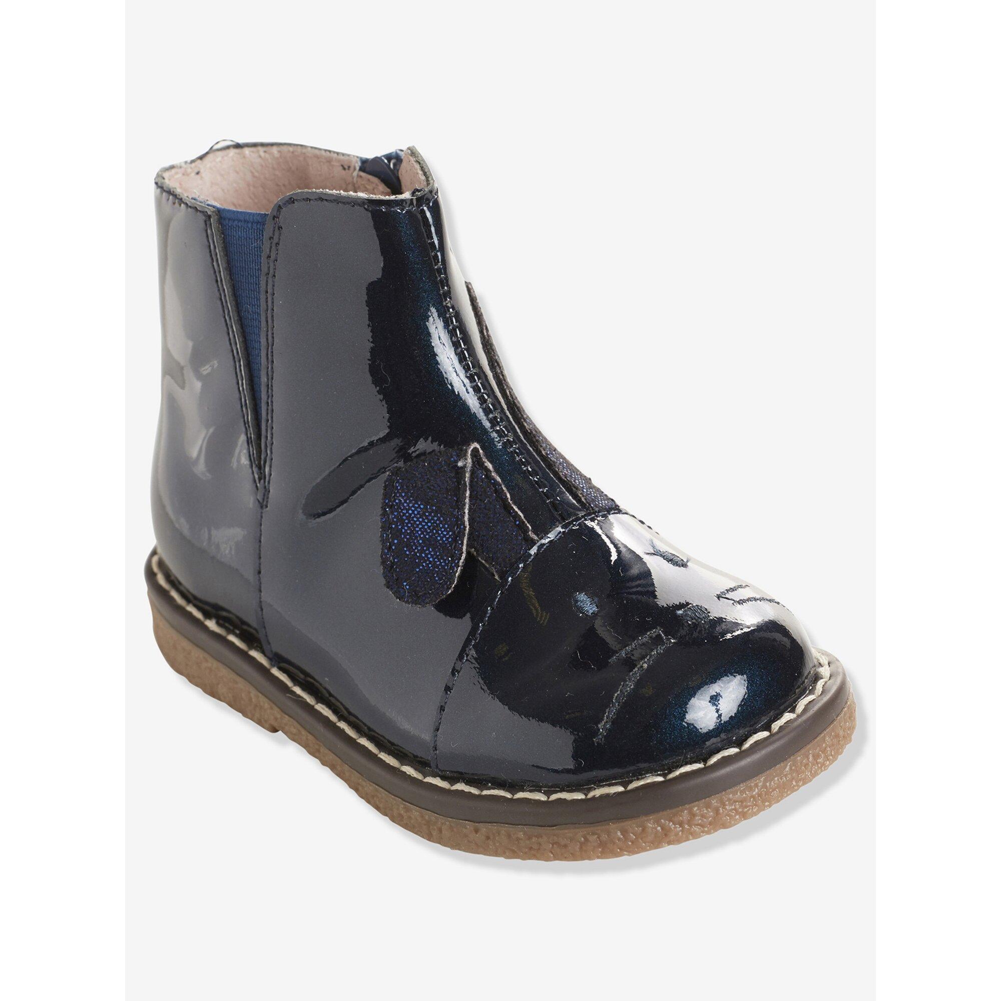 vertbaudet-madchen-boots-aus-leder-hase