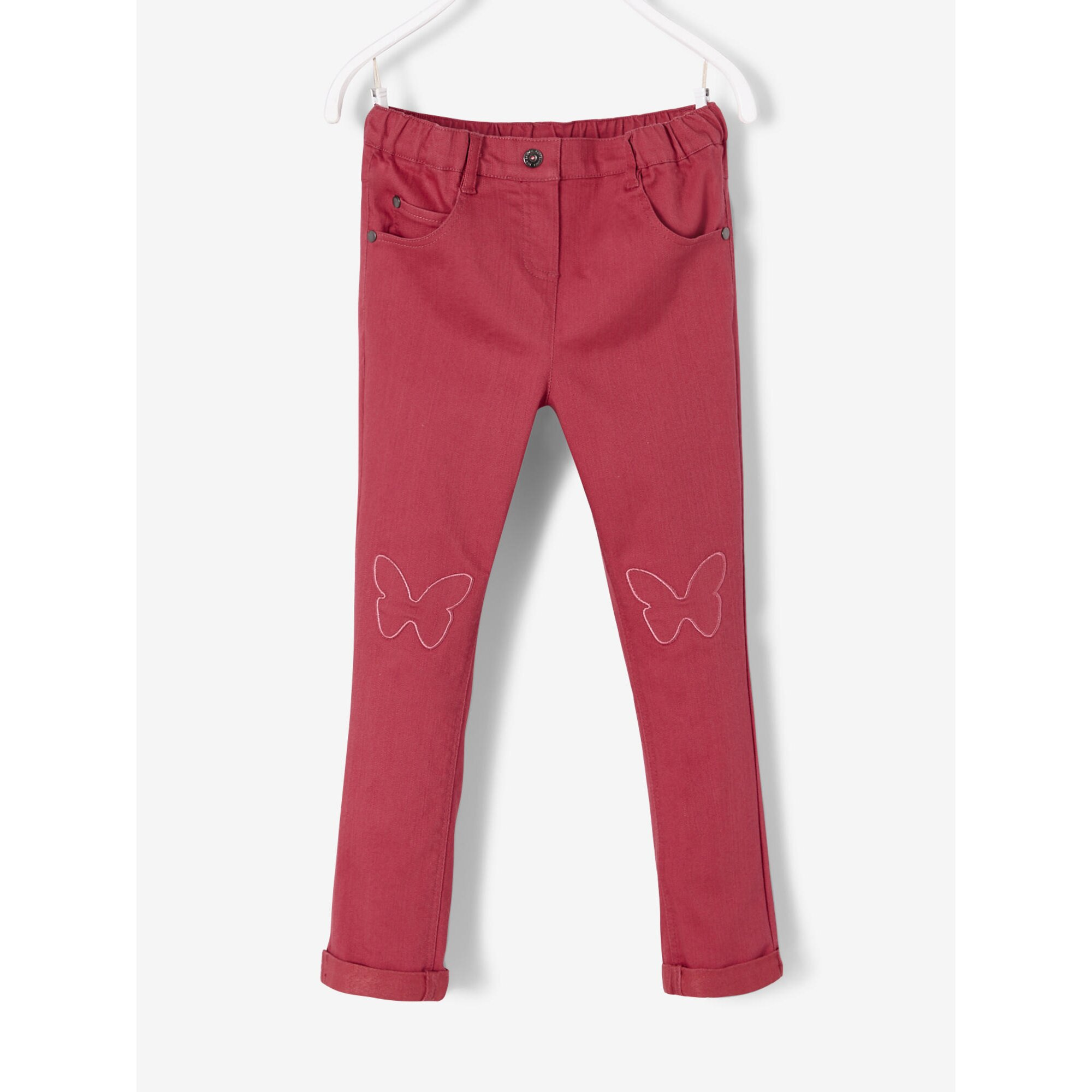 Vertbaudet Slim-Fit-Hose für Mädchen