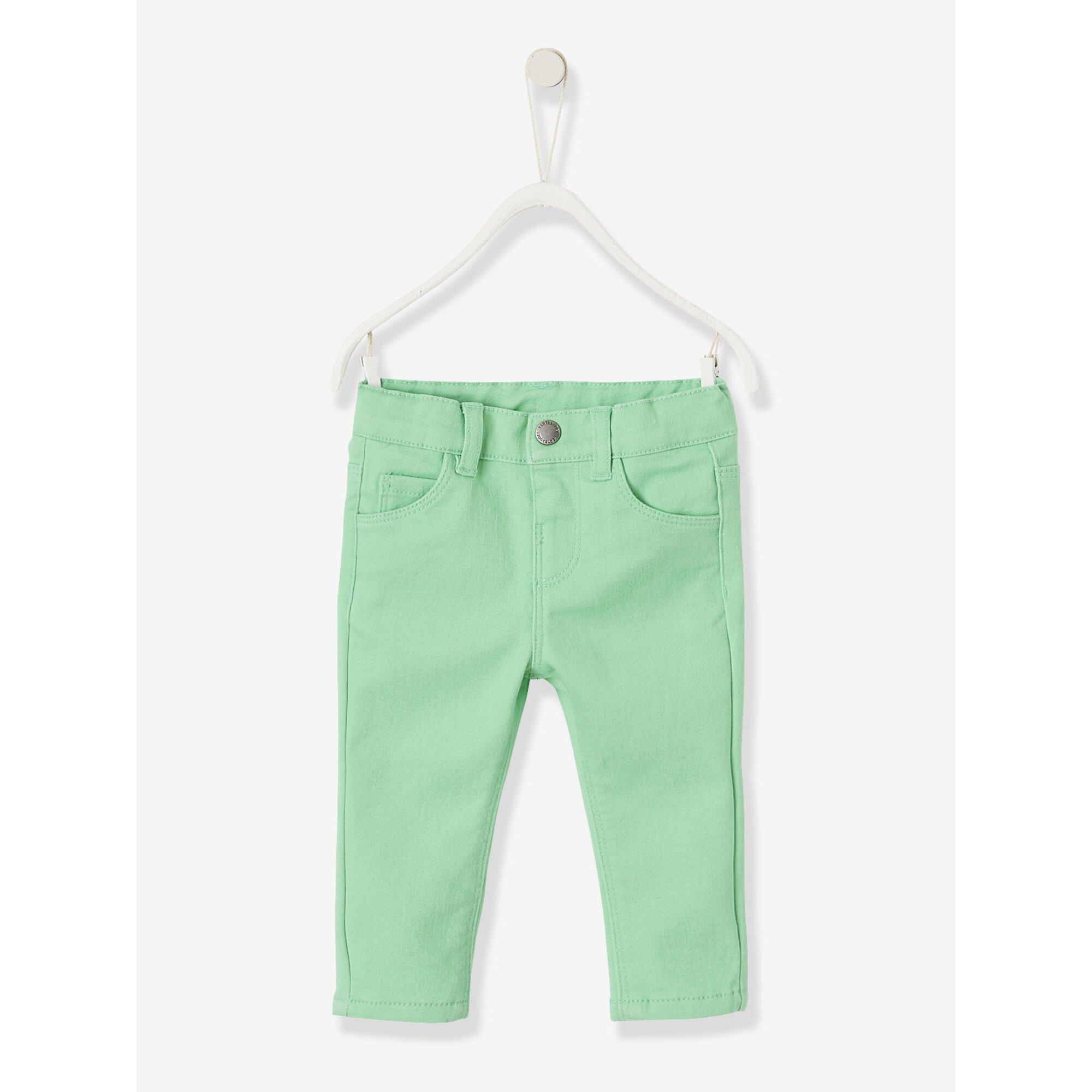 Vertbaudet Slim-Fit-Jeans für Baby Mädchen, Stretch