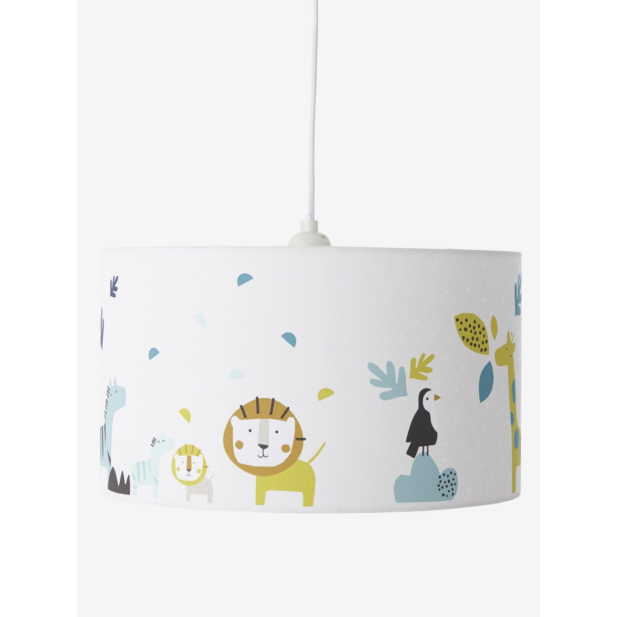 Vertbaudet Lampenschirm Dschungel für Kinderzimmer