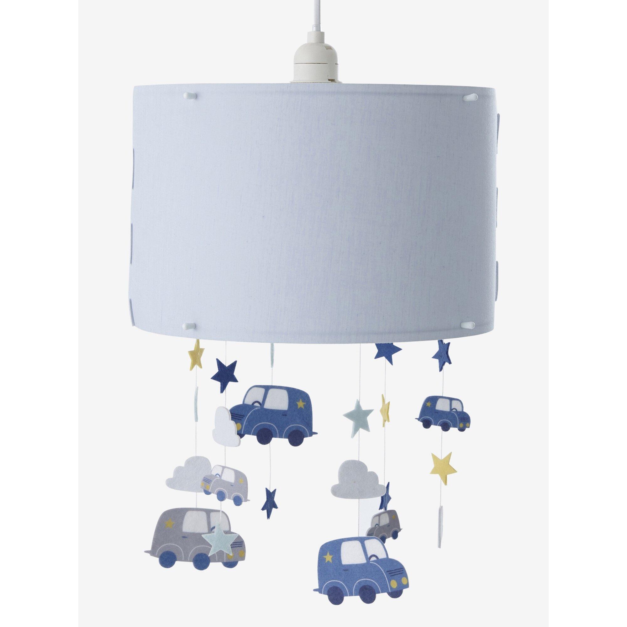Vertbaudet Hänge-Lampenschirm für Kinderzimmer, Autos
