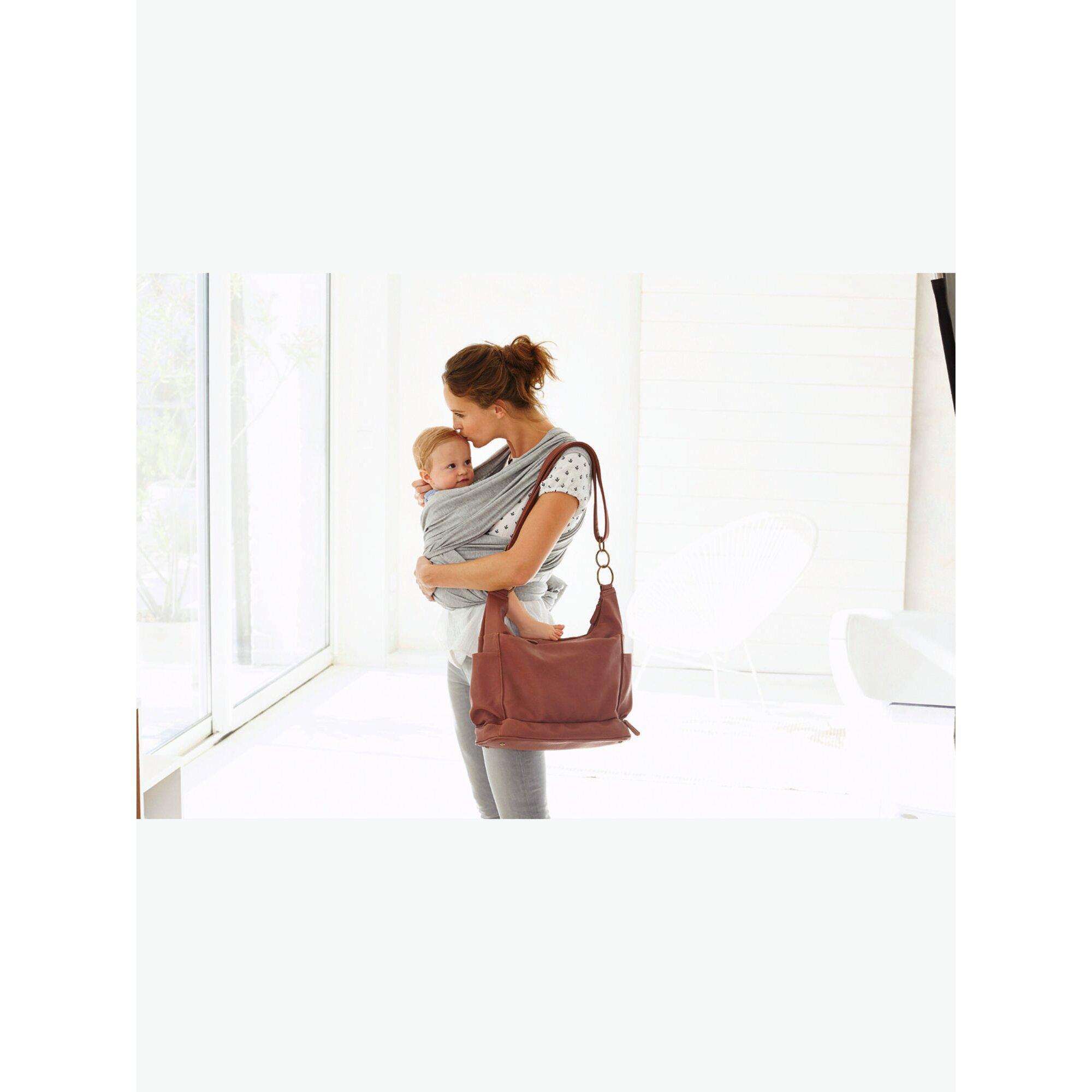 Vertbaudet BabywickeltascheTrendycity mit Zubehör braun