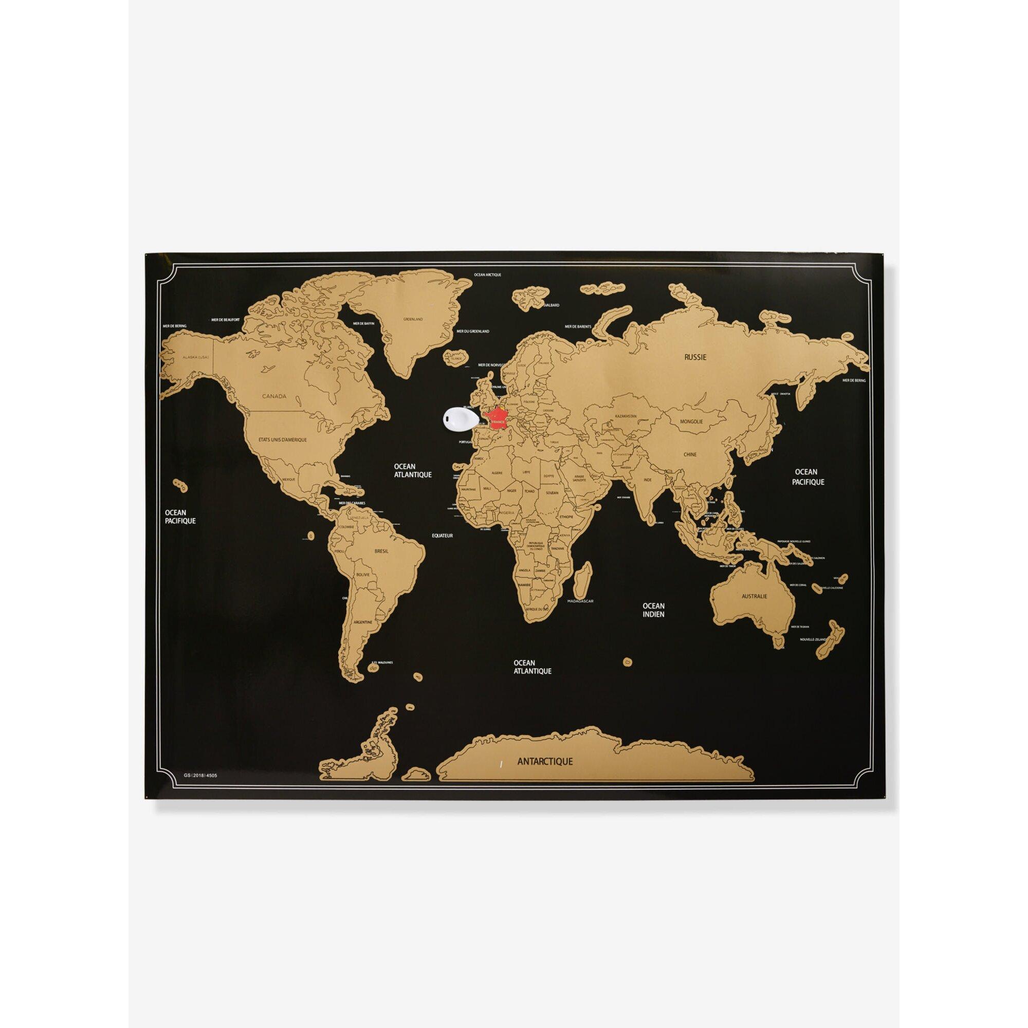 Vertbaudet Weltkarte zum Rubbeln Preisvergleich