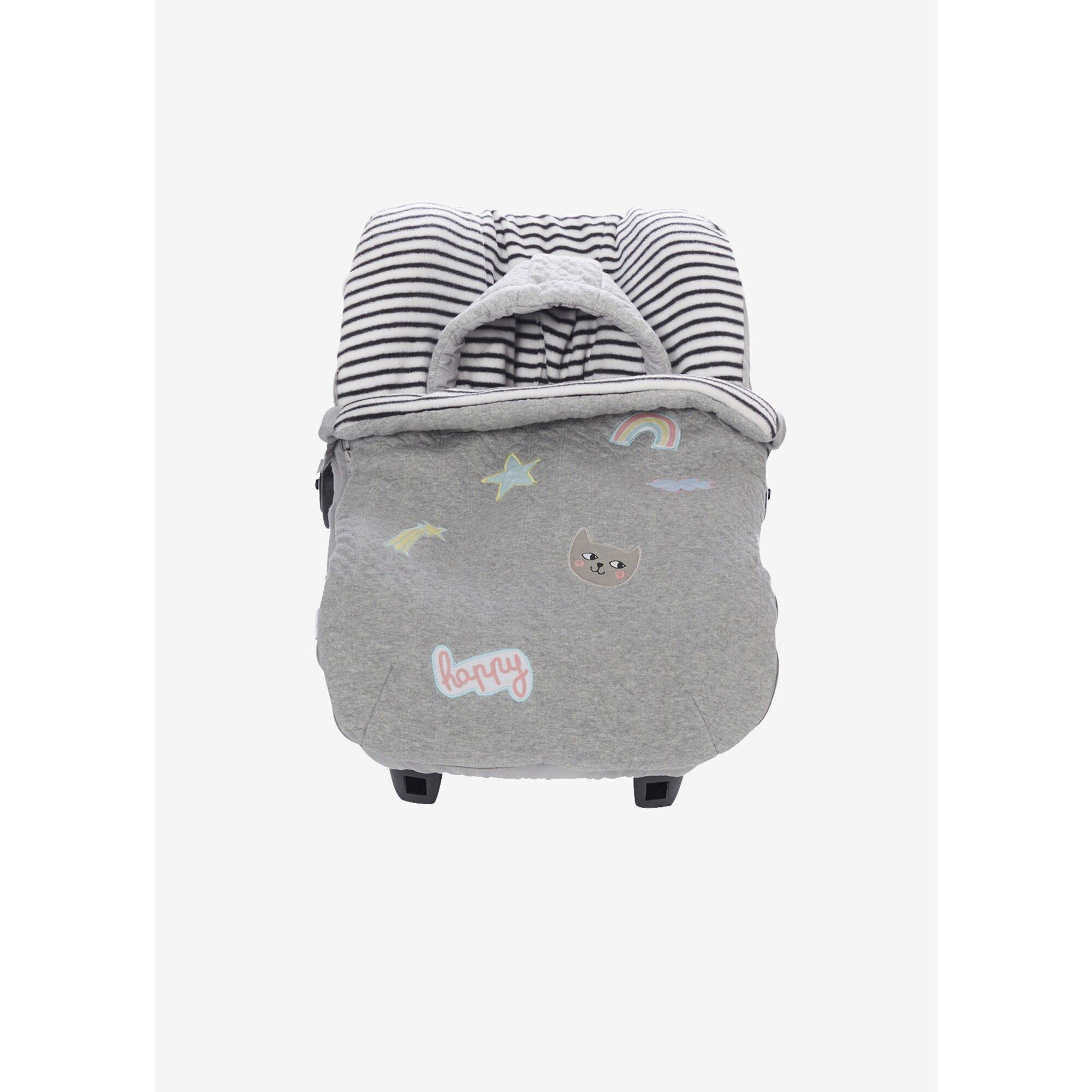 vertbaudet-fu-sack-fur-babyschale-fleecefutter-grau