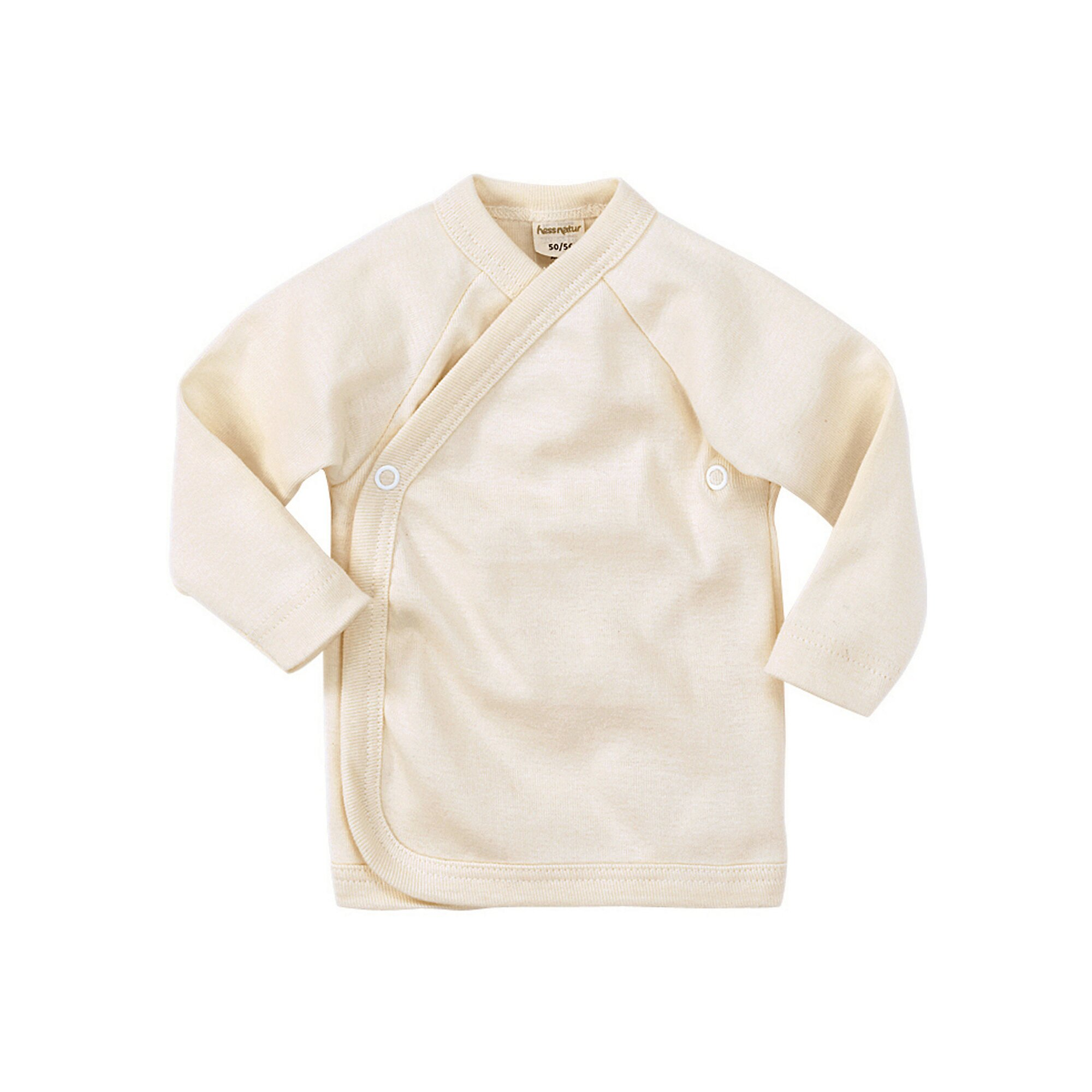 Hessnatur Wickelhemd aus reiner Bio-Baumwolle