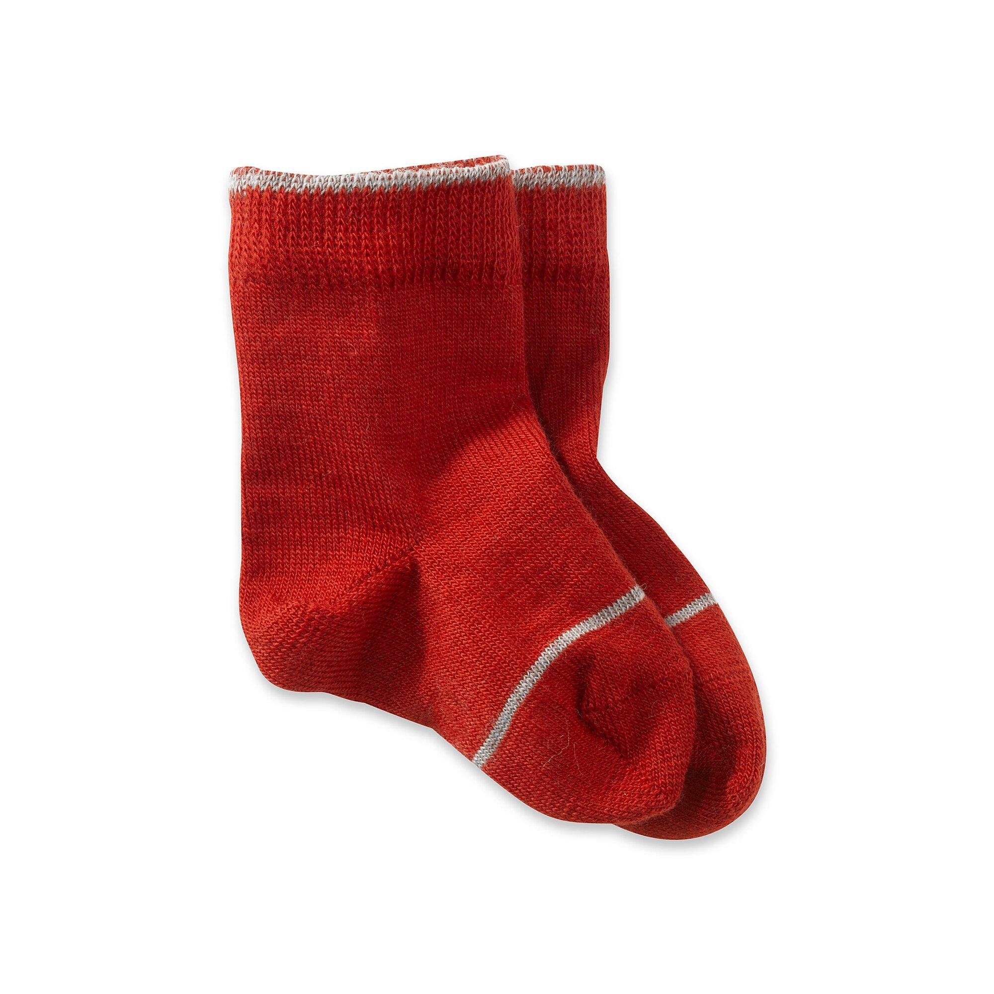 Hessnatur Socke aus Schurwolle mit Baumwolle