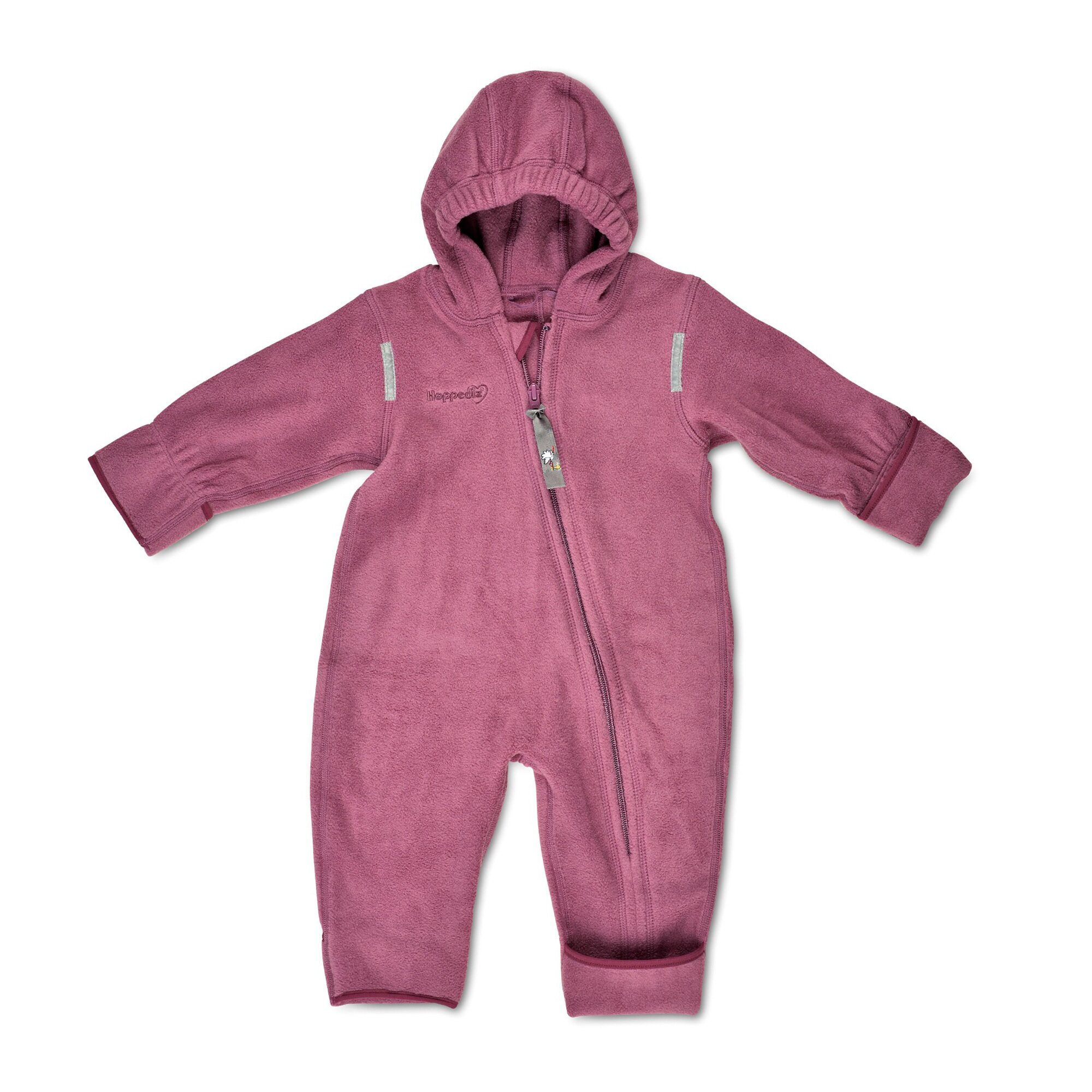 Hoppediz® Fleece-(Trage-) Overalls lila