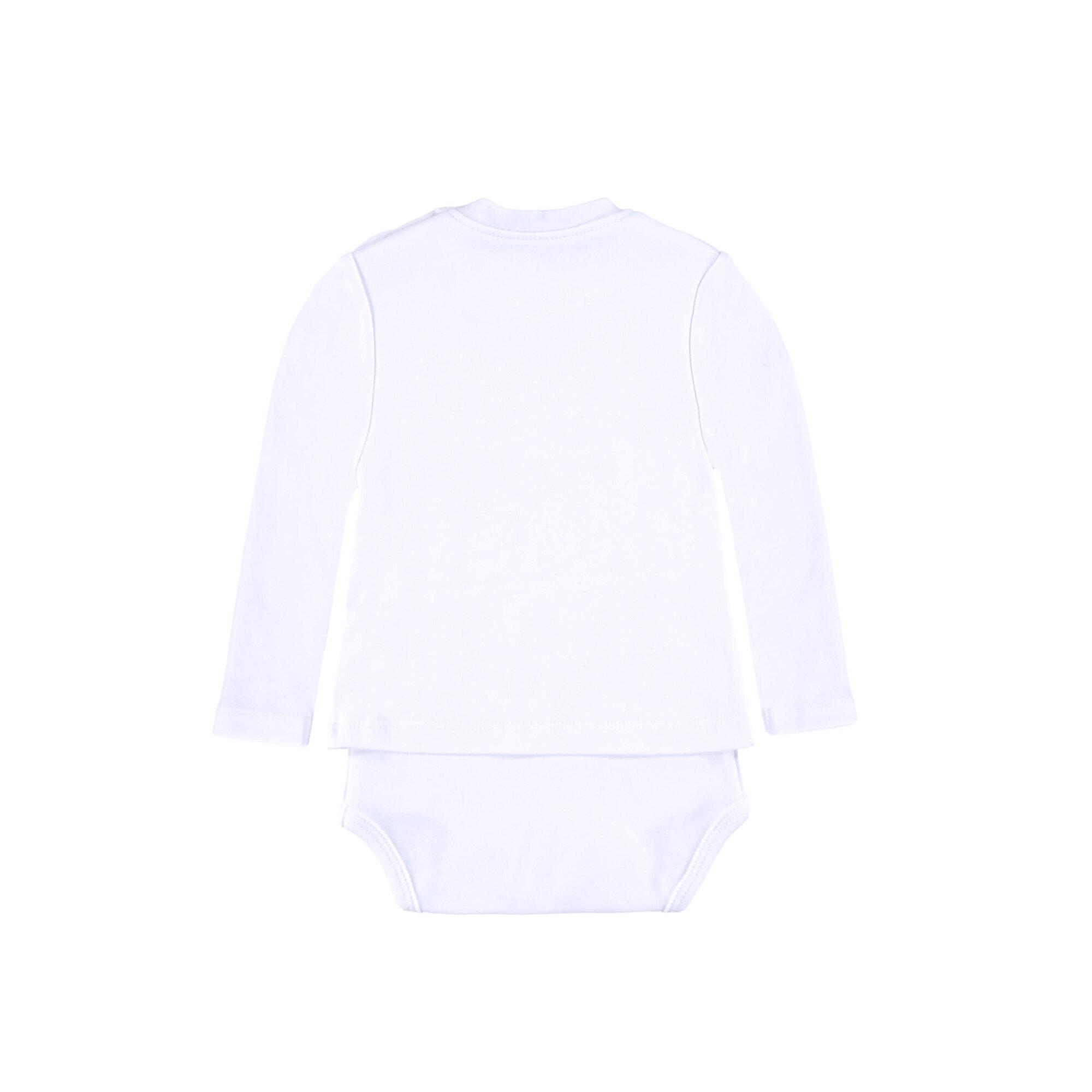 bellybutton-2in-1-body-mit-shirt-mit-stern-weiss-50-56-62-68-74-80-86, 23.95 EUR @ babywalz-de