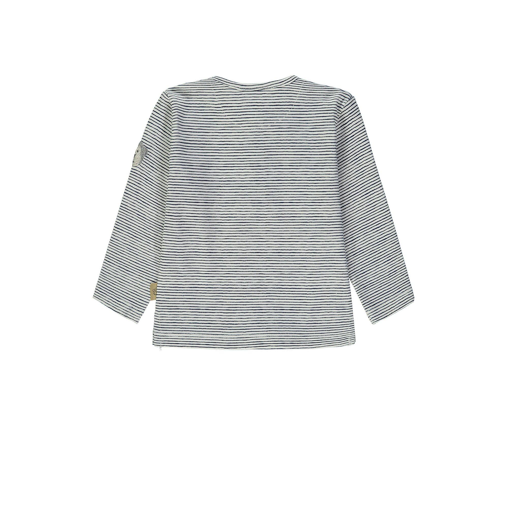 bellybutton-langarmshirt-jungen-gestreift, 17.95 EUR @ babywalz-de