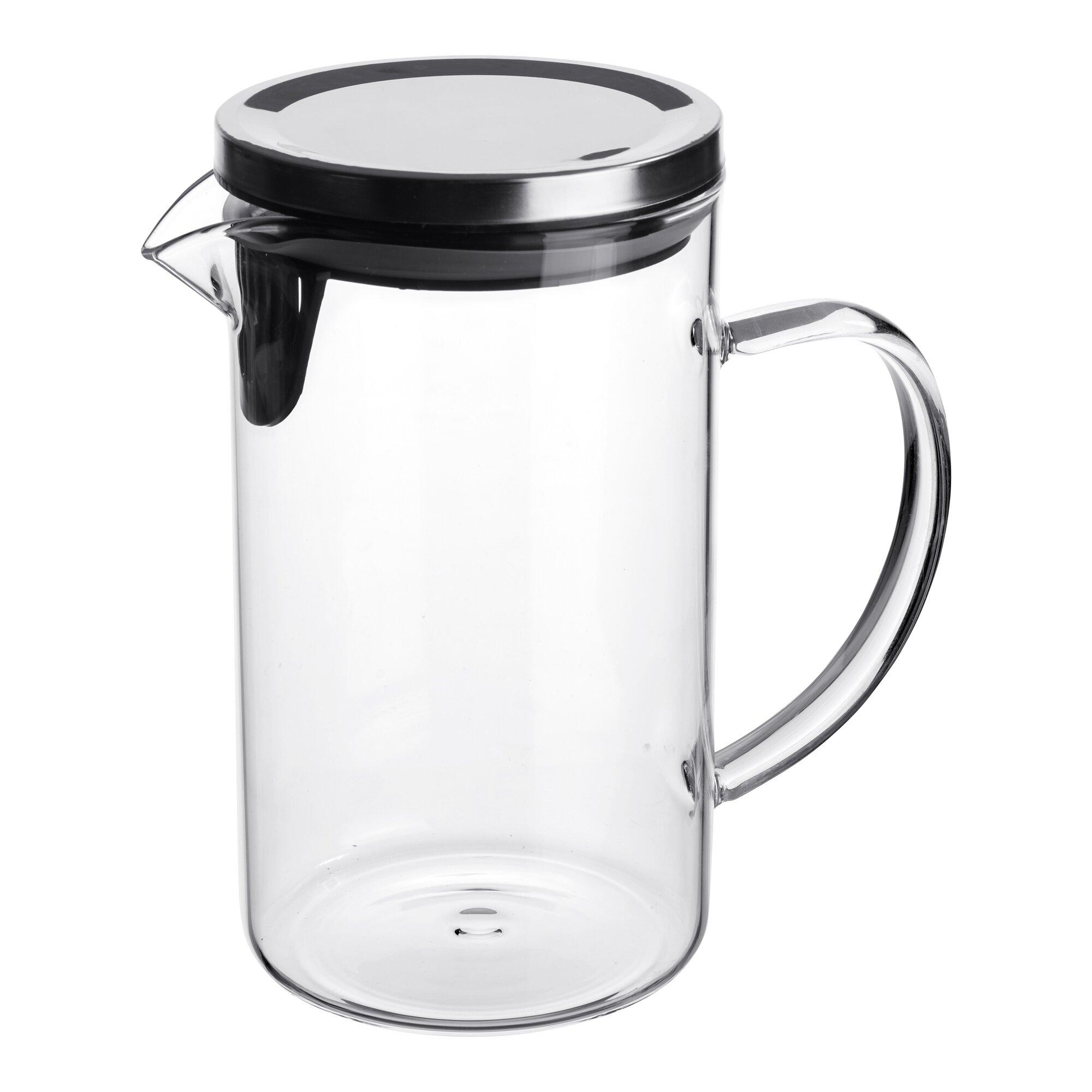 Image of Glaskrug mit Filter 1 L