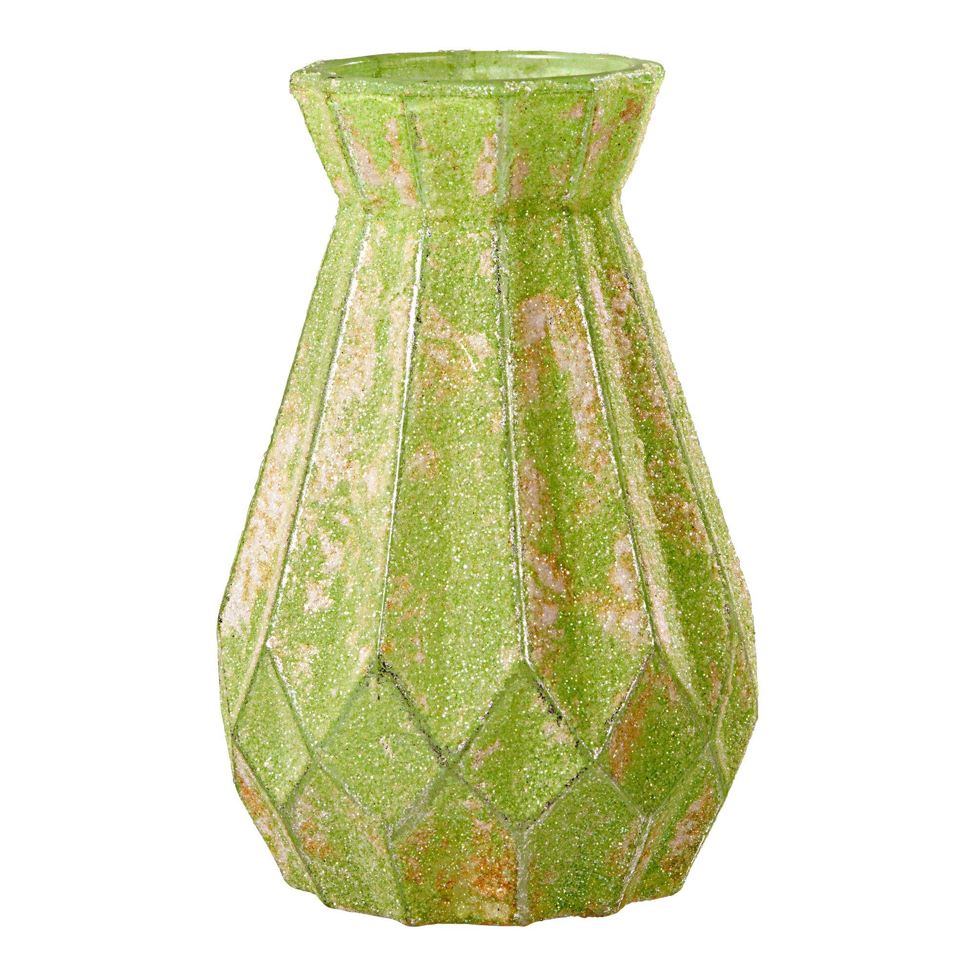 """Image of Glas-Vase """"Grün"""""""