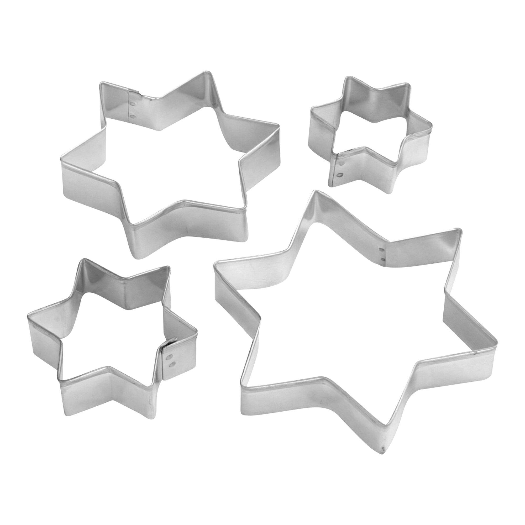 Image of Patisserie Ausstechformen Sterne, 4 Stück