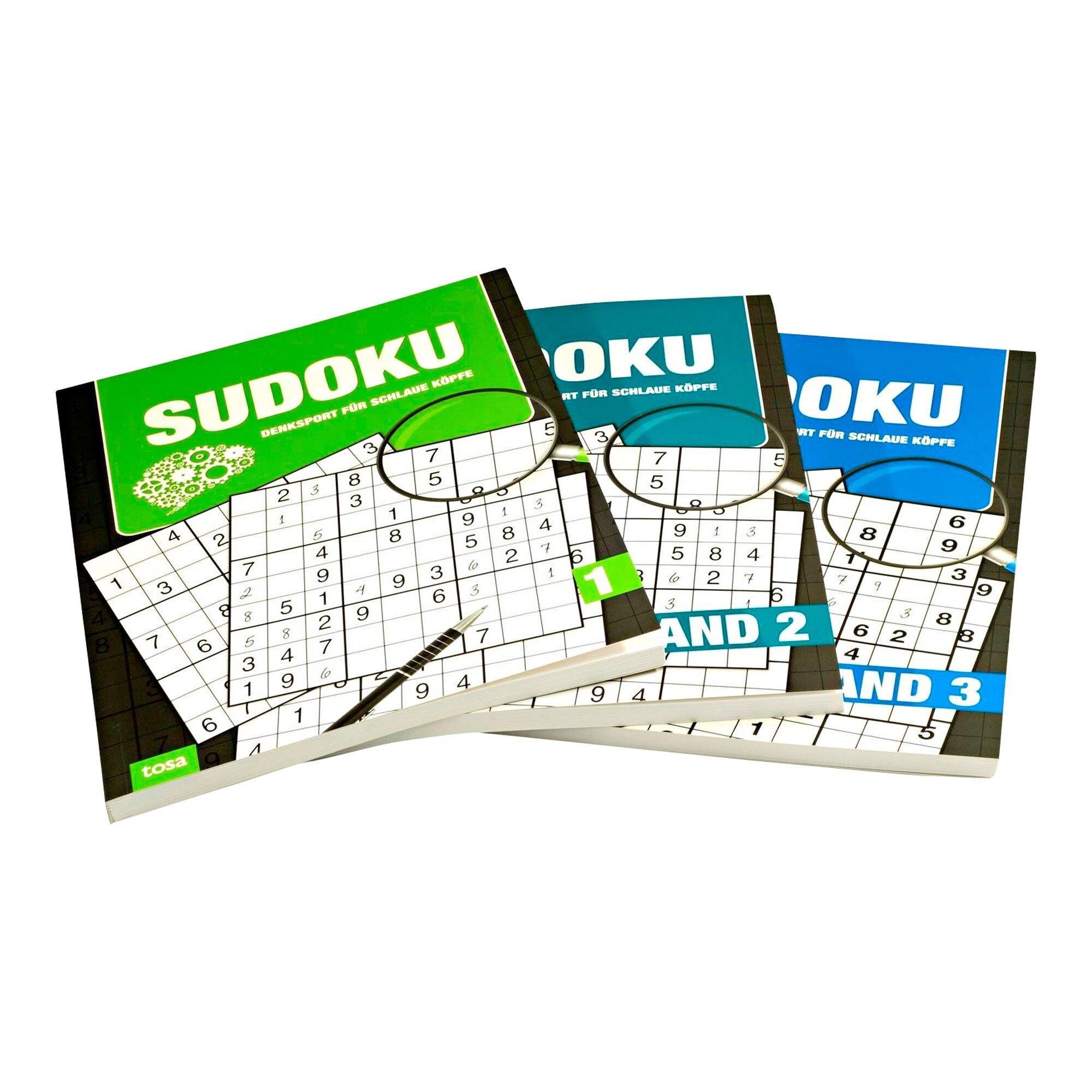 Image of Sudoku Großpack, 3 Bände