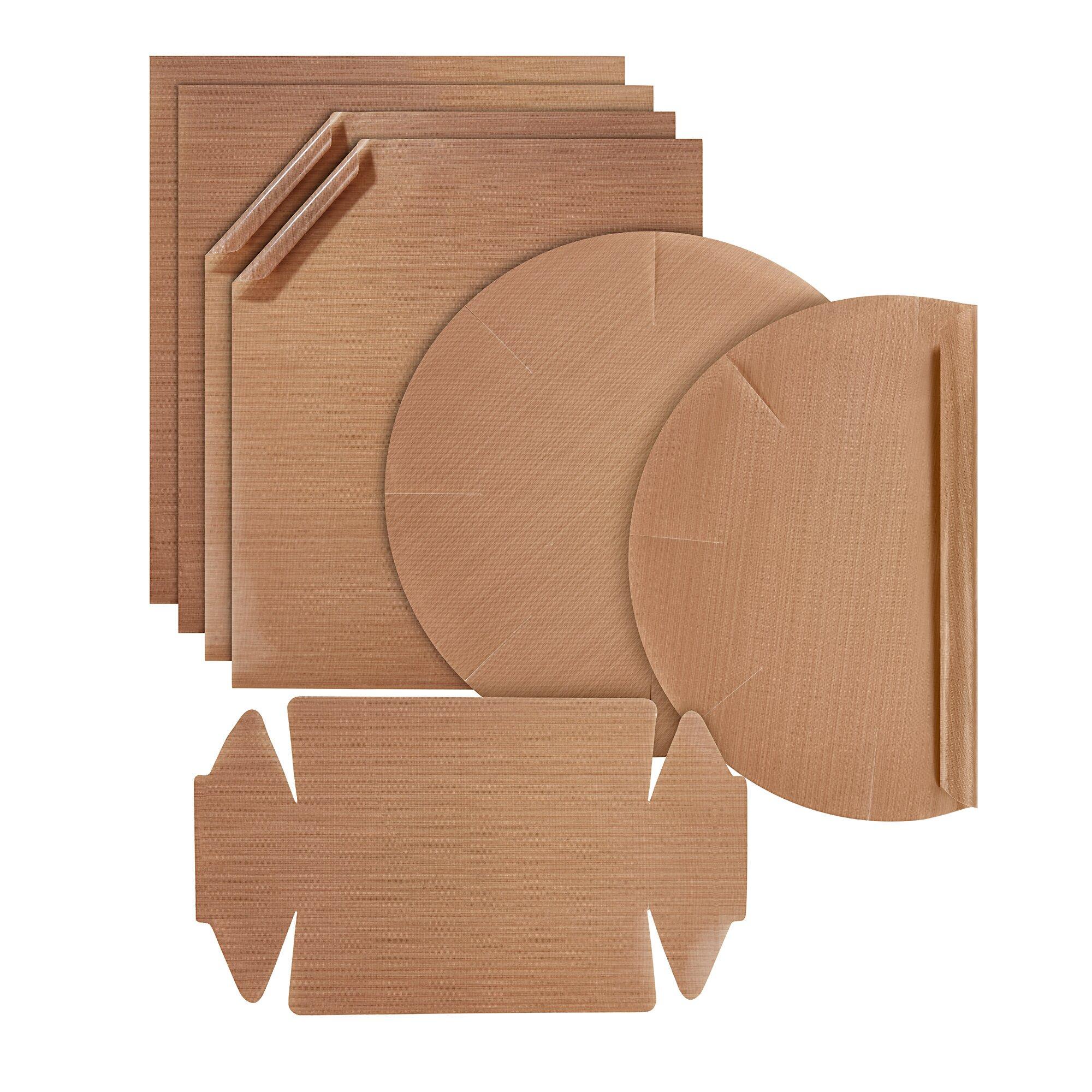 Image of genialo® Dauer-Backfolien-Sortiment, 7 Stück