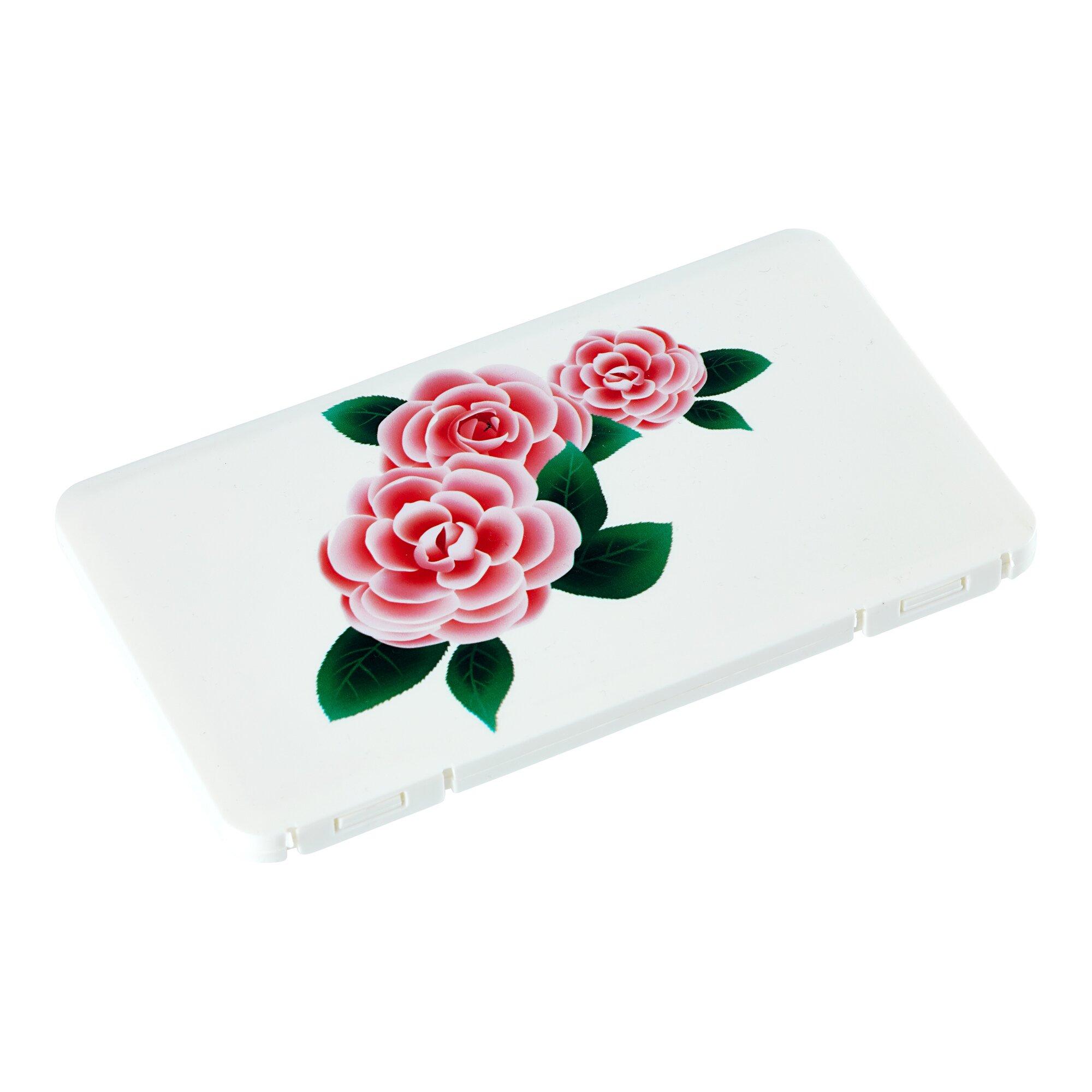 Image of Masken-Box mit Blumen