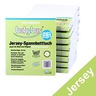 Jersey hoeslaken 'Maxi' XXL van BABYBAY®